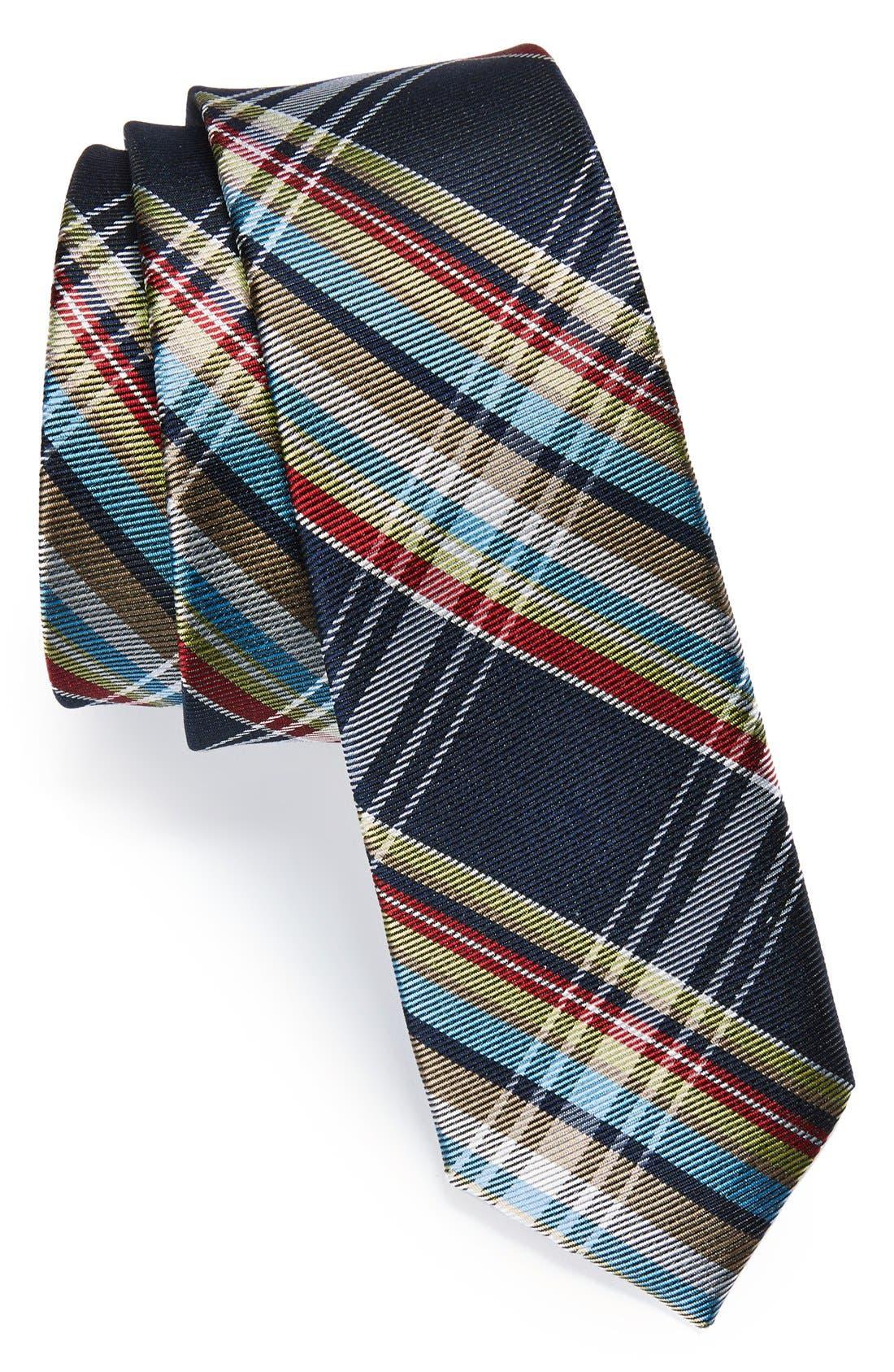 Main Image - Original Penguin Woven Silk Tie