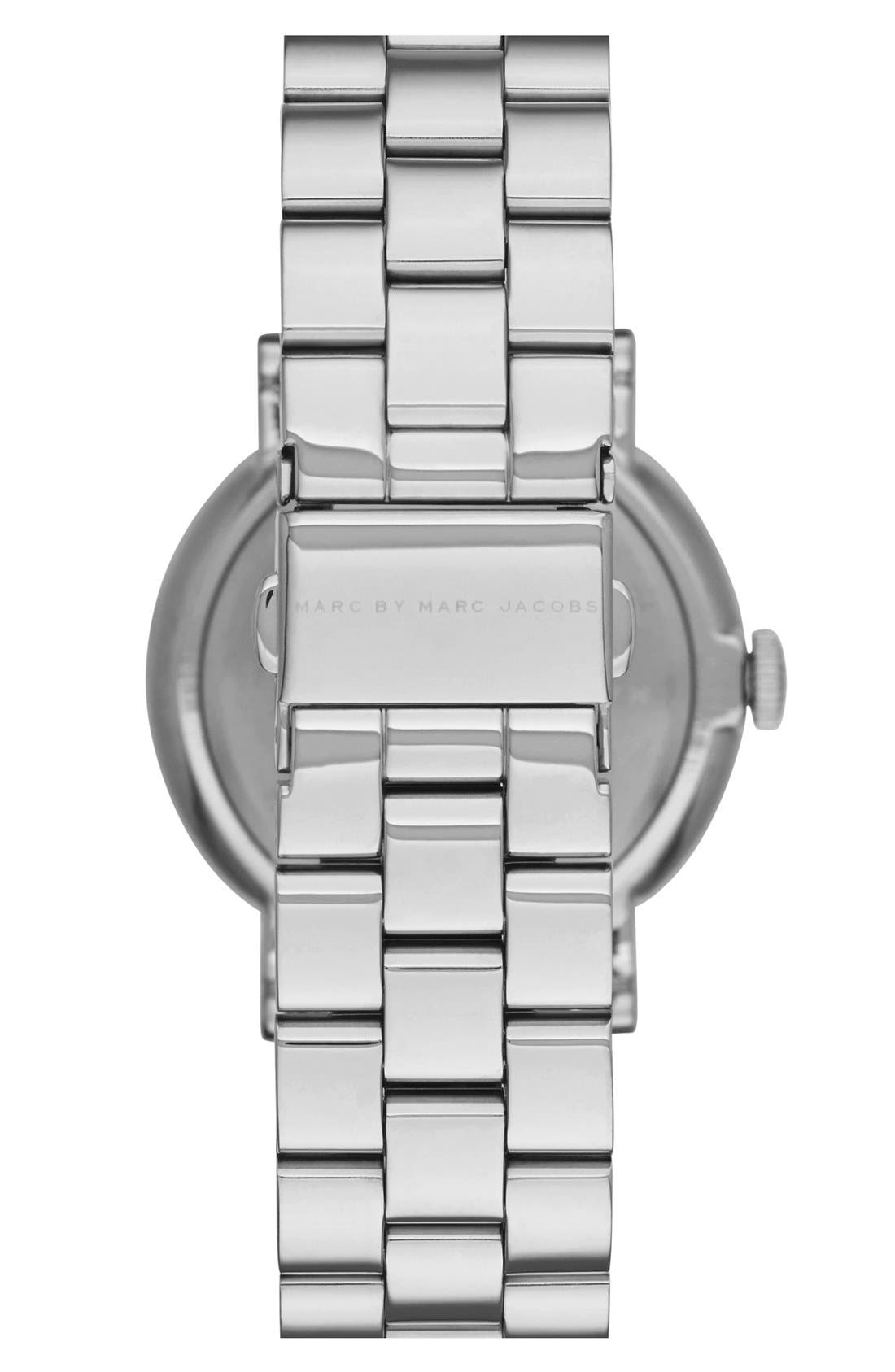 Alternate Image 2  - MARC JACOBS 'Baker' Bracelet Watch, 36mm (Nordstrom Exclusive)