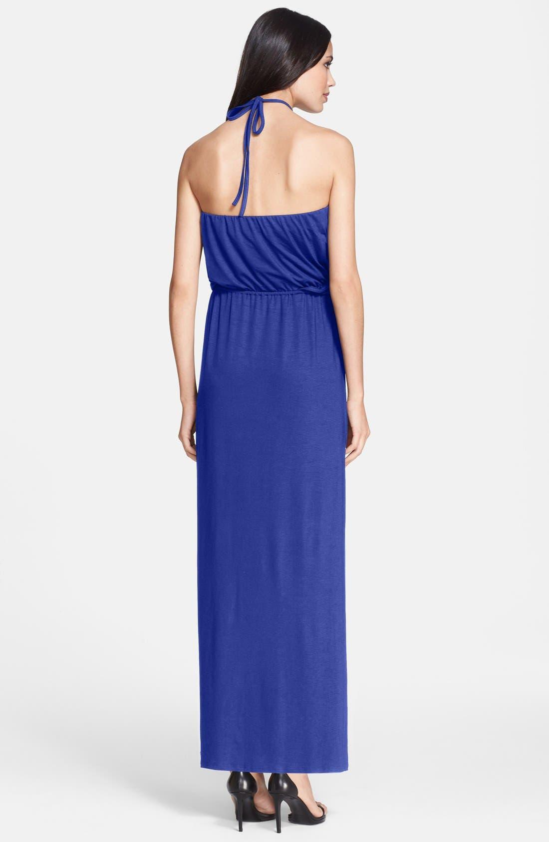 Alternate Image 2  - Trina Turk 'Goldie' Jersey Maxi Dress