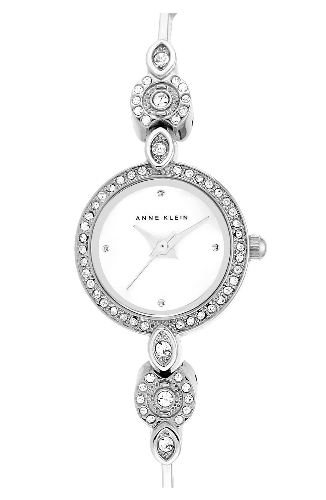 Alternate Image 1 Selected - Anne Klein Round Bangle Watch, 27.5mm