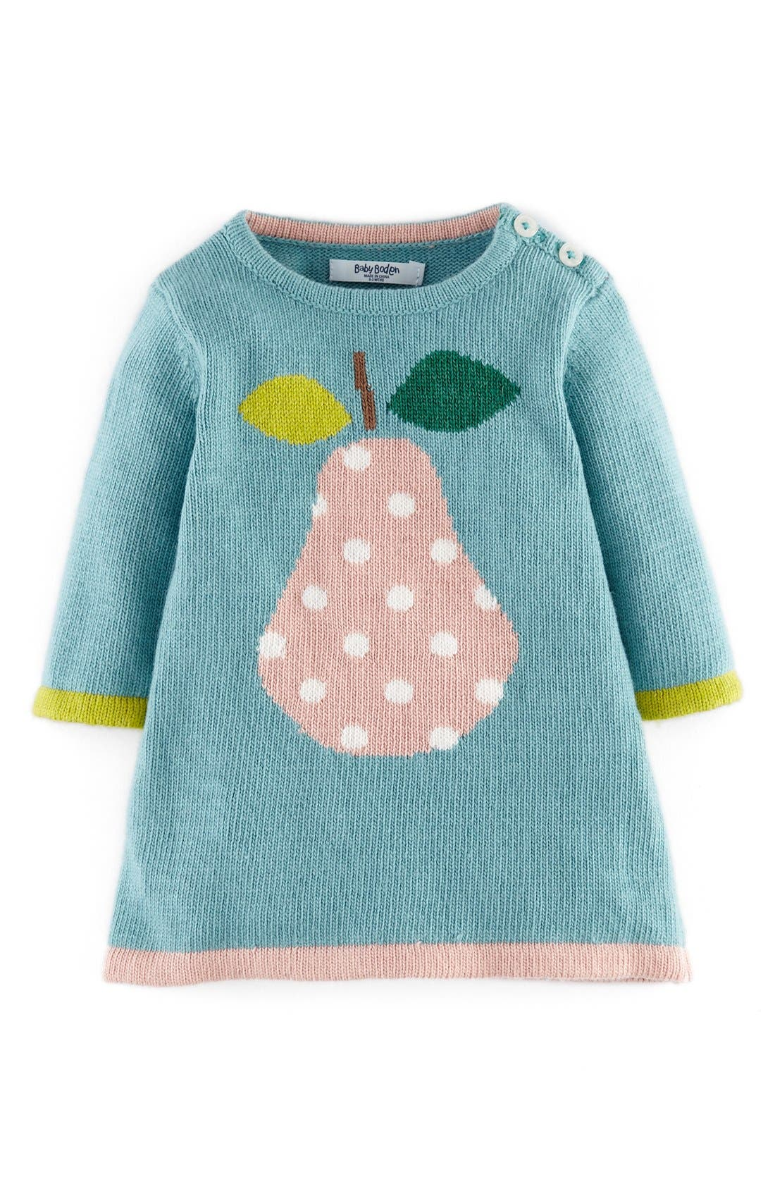 Alternate Image 1 Selected - Mini Boden Knit Dress (Baby Girls)