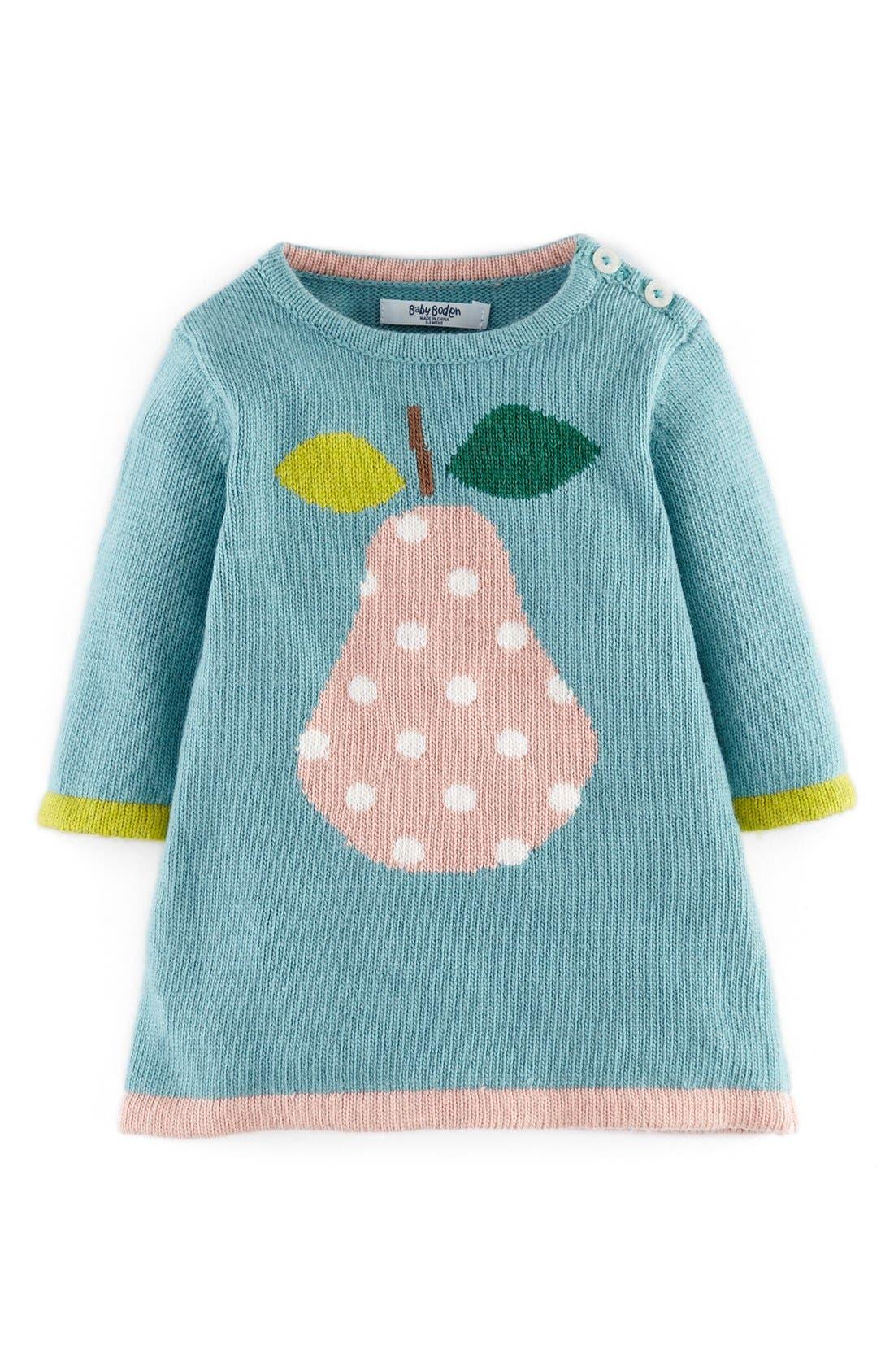 Main Image - Mini Boden Knit Dress (Baby Girls)