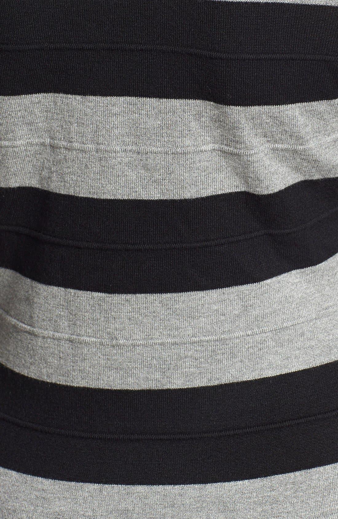 Alternate Image 3  - Gabby Skye Stripe Sweater Dress