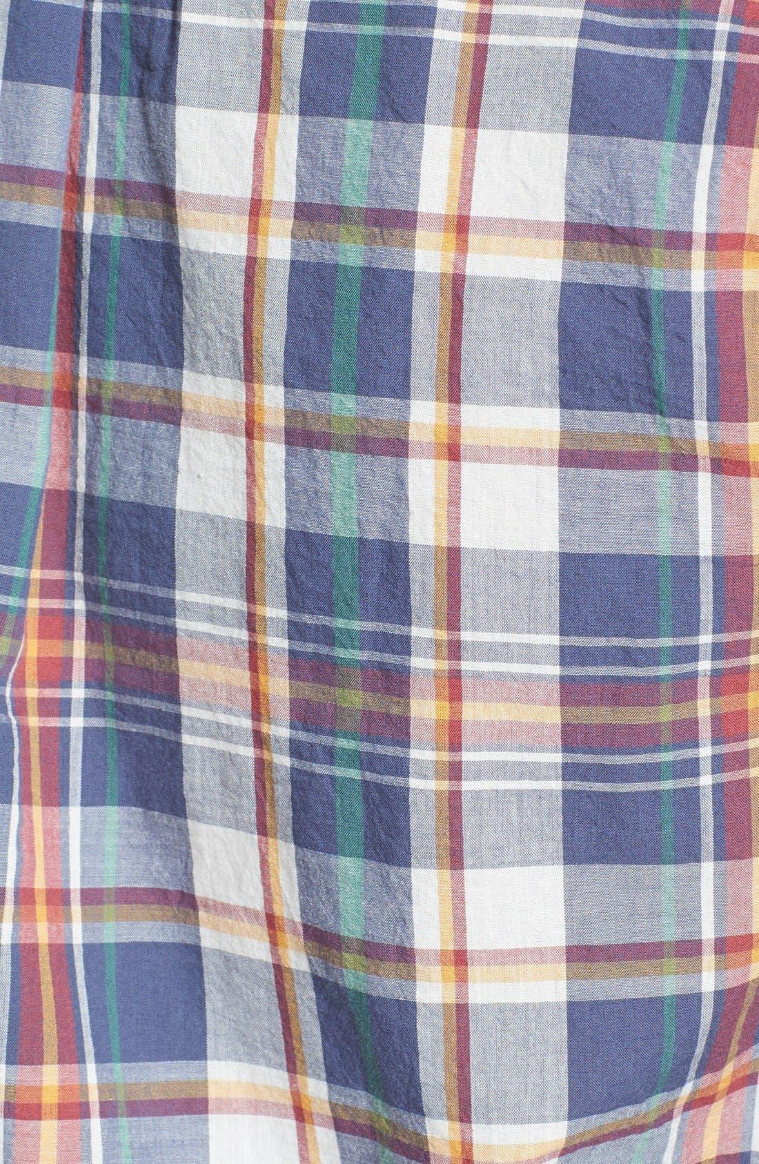 Alternate Image 3  - Gant 'Handloom' Regular Fit Madras Sport Shirt