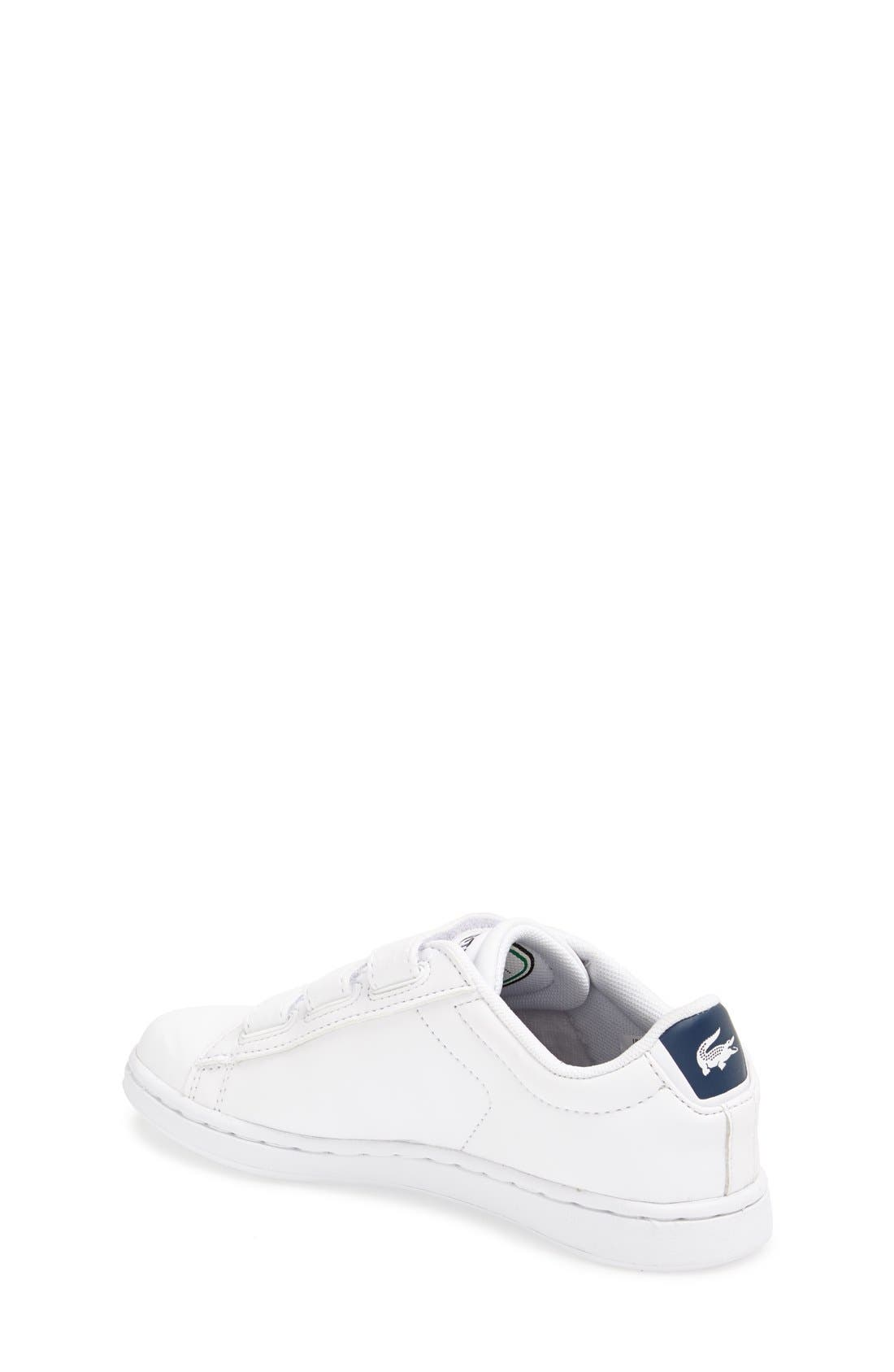 Alternate Image 2  - Lacoste 'Carnaby' Sneaker (Toddler & Little Kid)