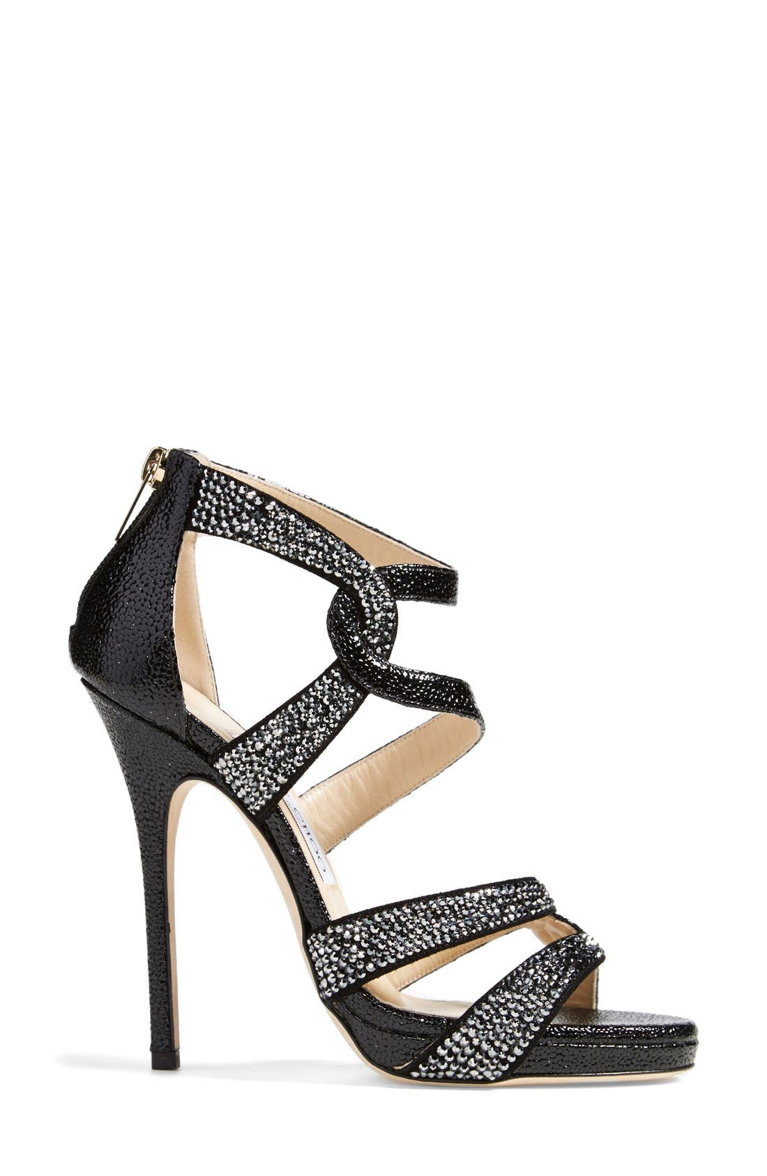 Alternate Image 4  - Jimmy Choo 'Taint' Platform Sandal (Women)