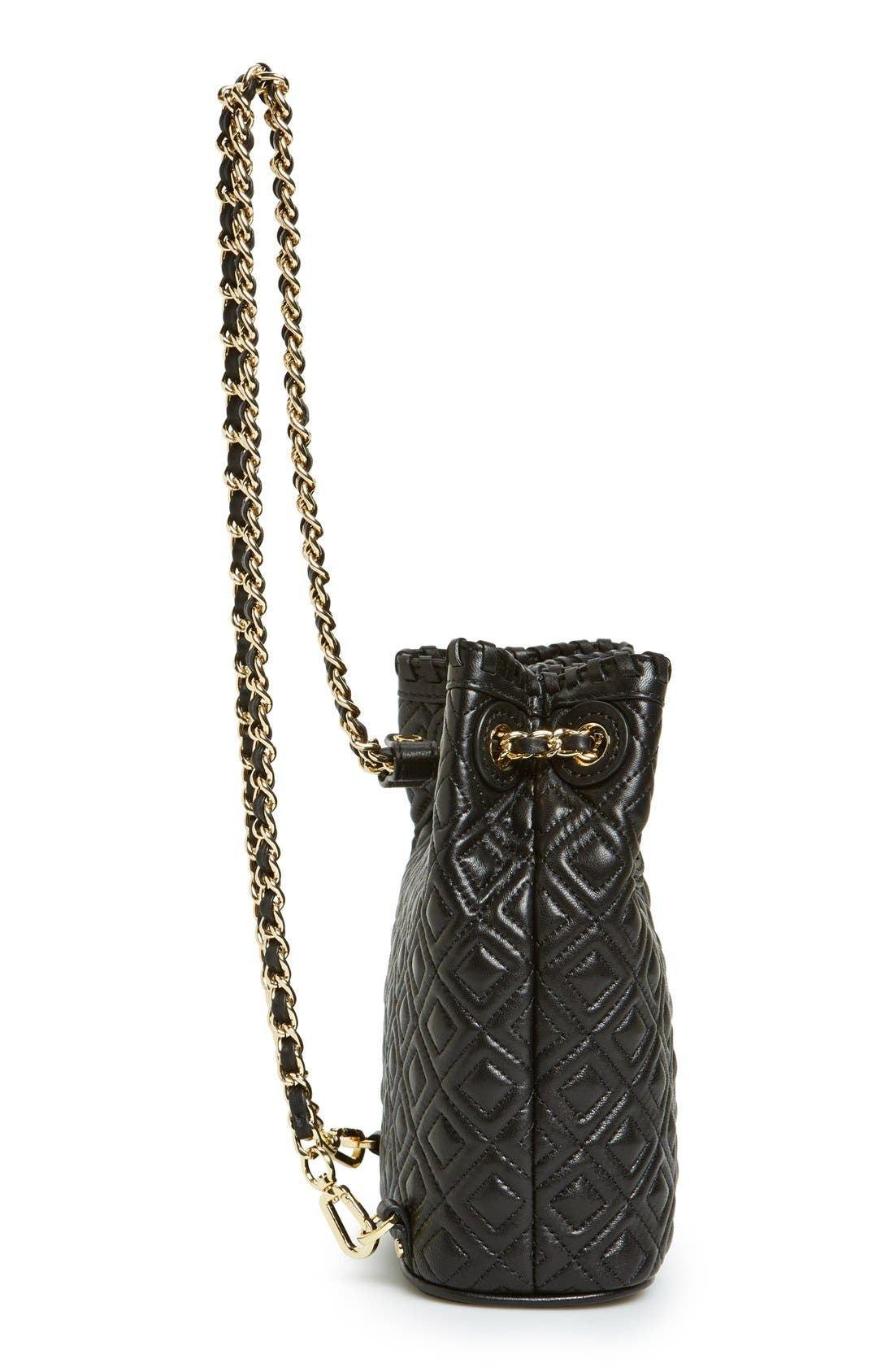 Alternate Image 5  - Tory Burch 'Small Marion' Quilted Leather Backpack