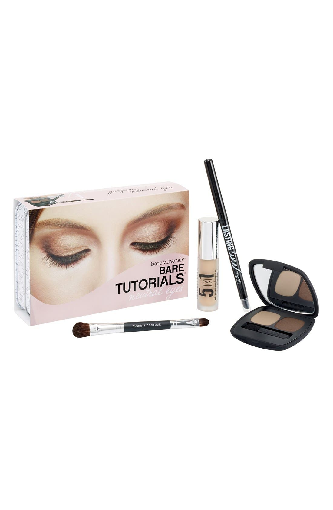 bareMinerals® 'Bare Tutorials - Neutral Eyes' Set ($62 Value)