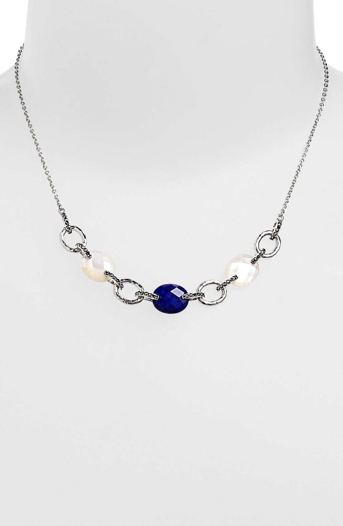 Alternate Image 1 Selected - Judith Jack 'Blue Sky' Multi Stone Frontal Necklace