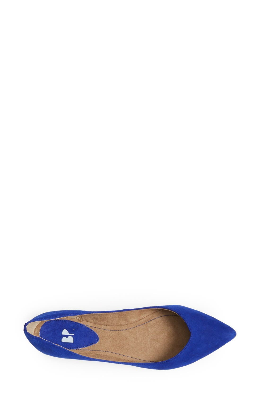 Alternate Image 3  - BP. 'Moveover' Pointy Toe Leather Flat (Women)