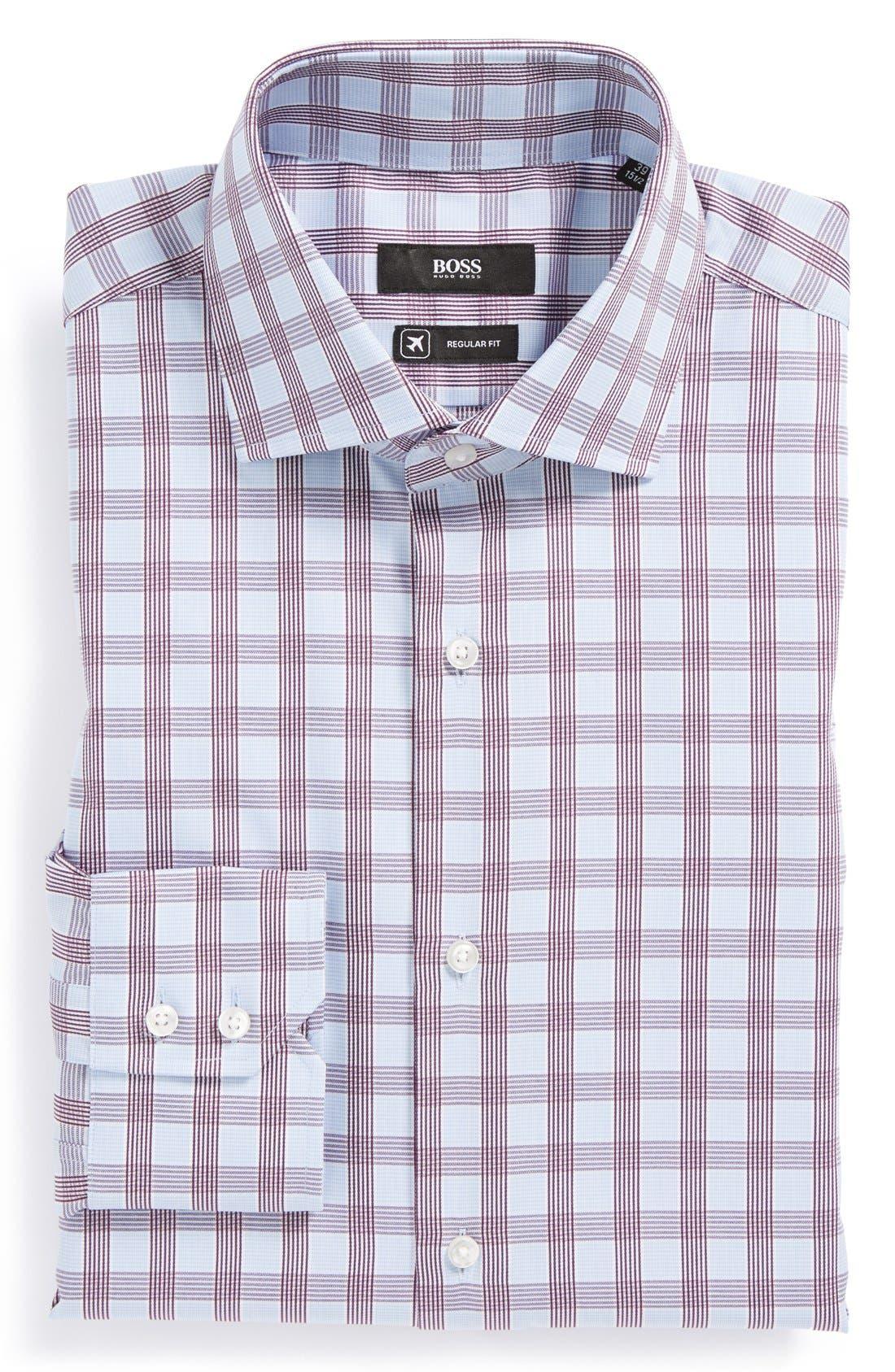 Main Image - BOSS HUGO BOSS 'Gerald WW' Regular Fit Travel Dress Shirt