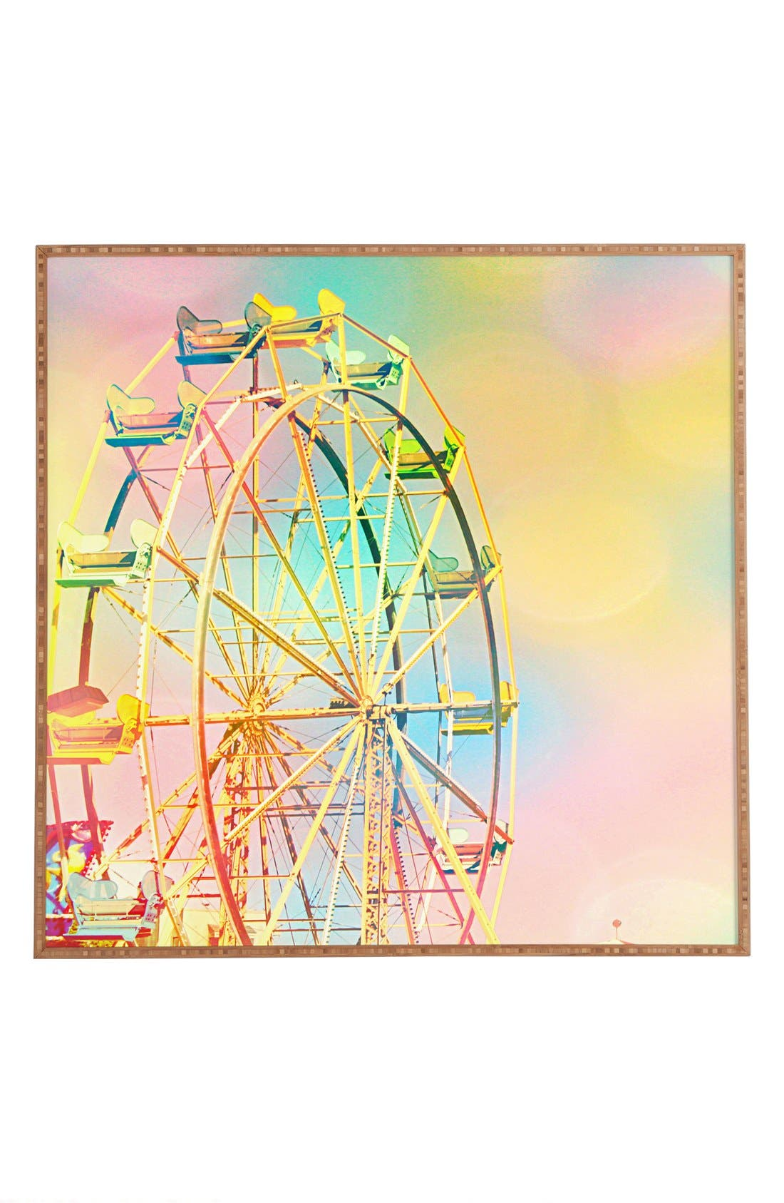 Alternate Image 1 Selected - DENY Designs 'Shannon Clark - Ferris Wheel Fun' Wall Art