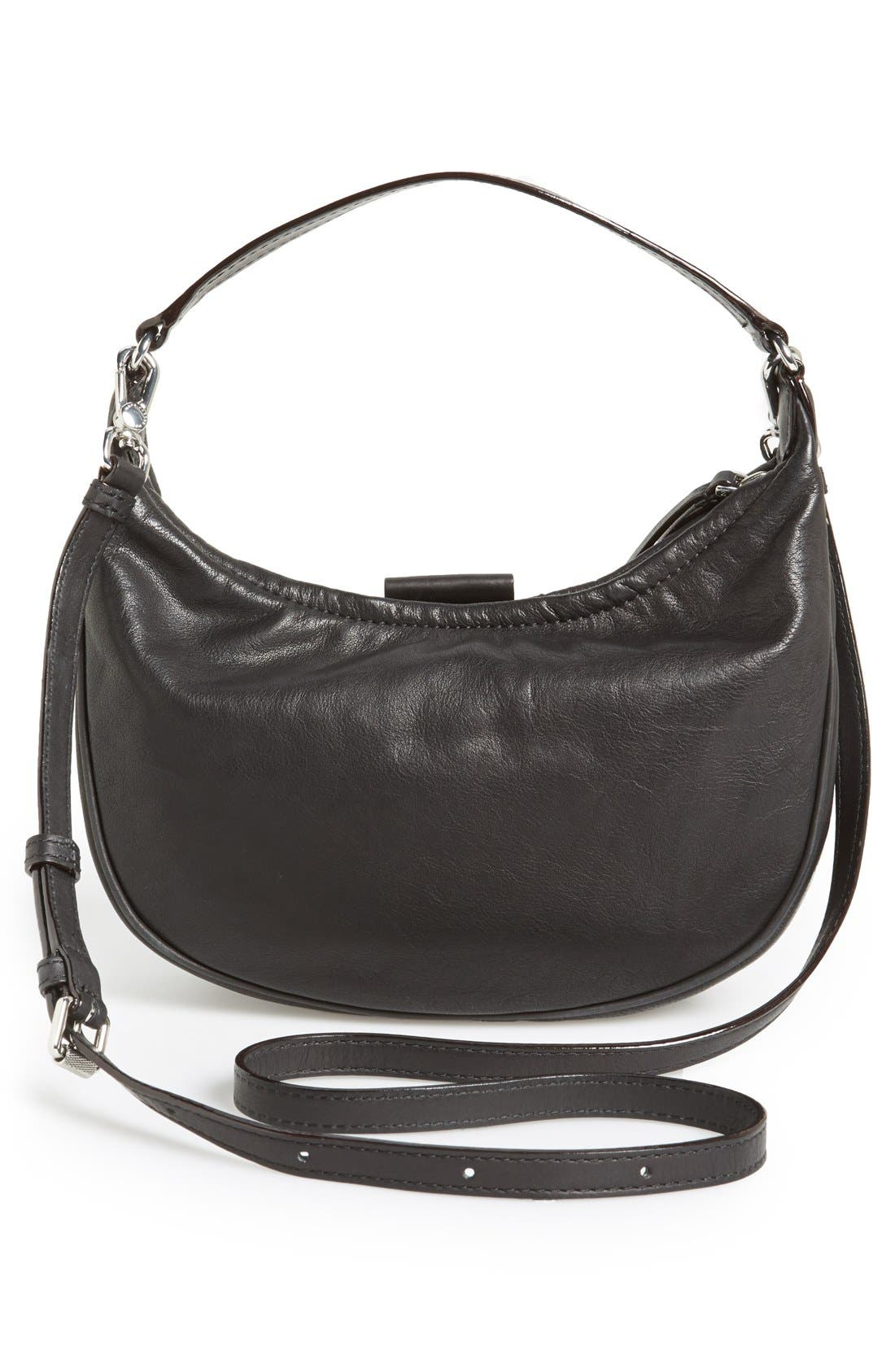 Alternate Image 4  - MARC BY MARC JACOBS 'Tiny Banana' Italian Leather Hobo