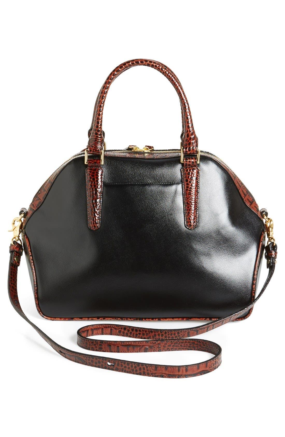 Alternate Image 4  - Brahmin 'Hudson' Leather Satchel
