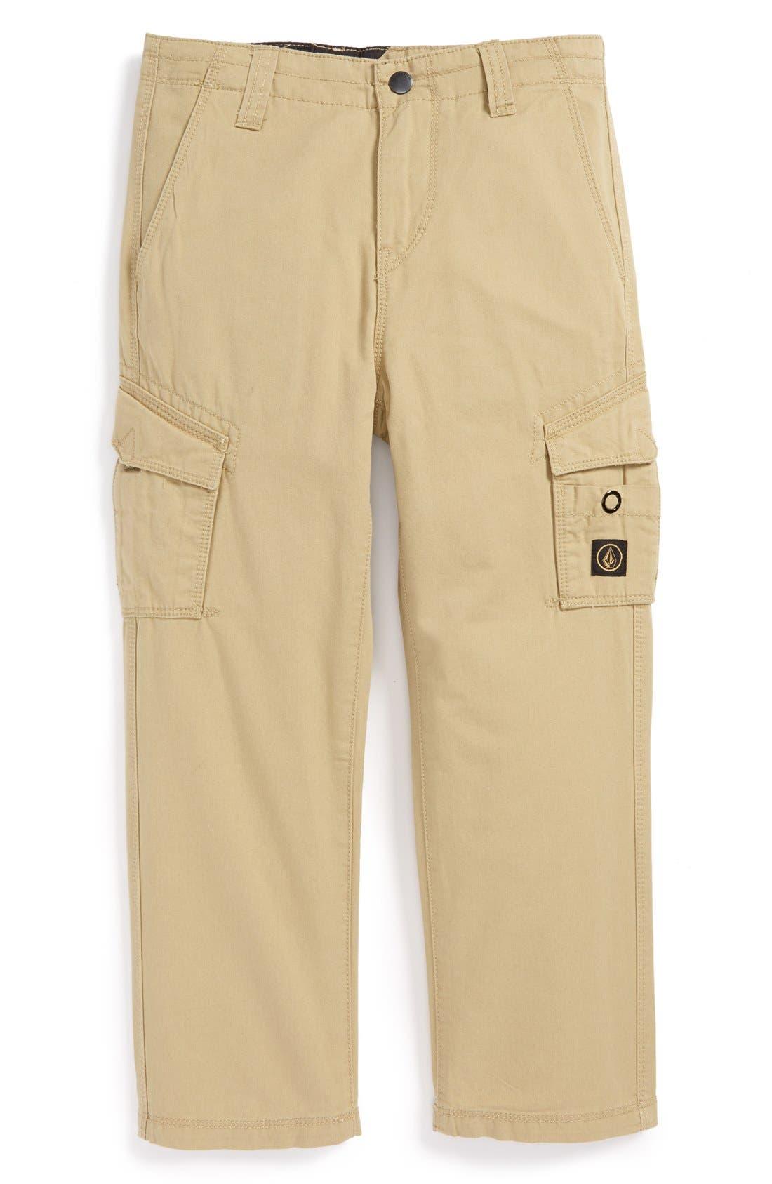 Alternate Image 1 Selected - Volcom 'Mesa' Cargo Pants (Big Boys)