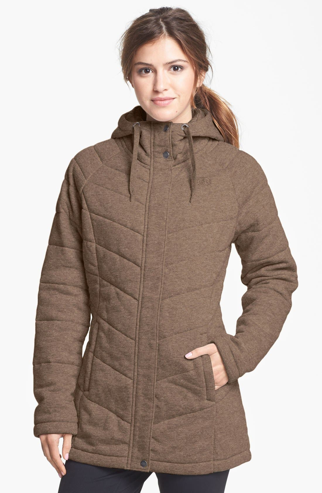 Alternate Image 1 Selected - The North Face 'Miss Kit' Hooded Fleece Jacket