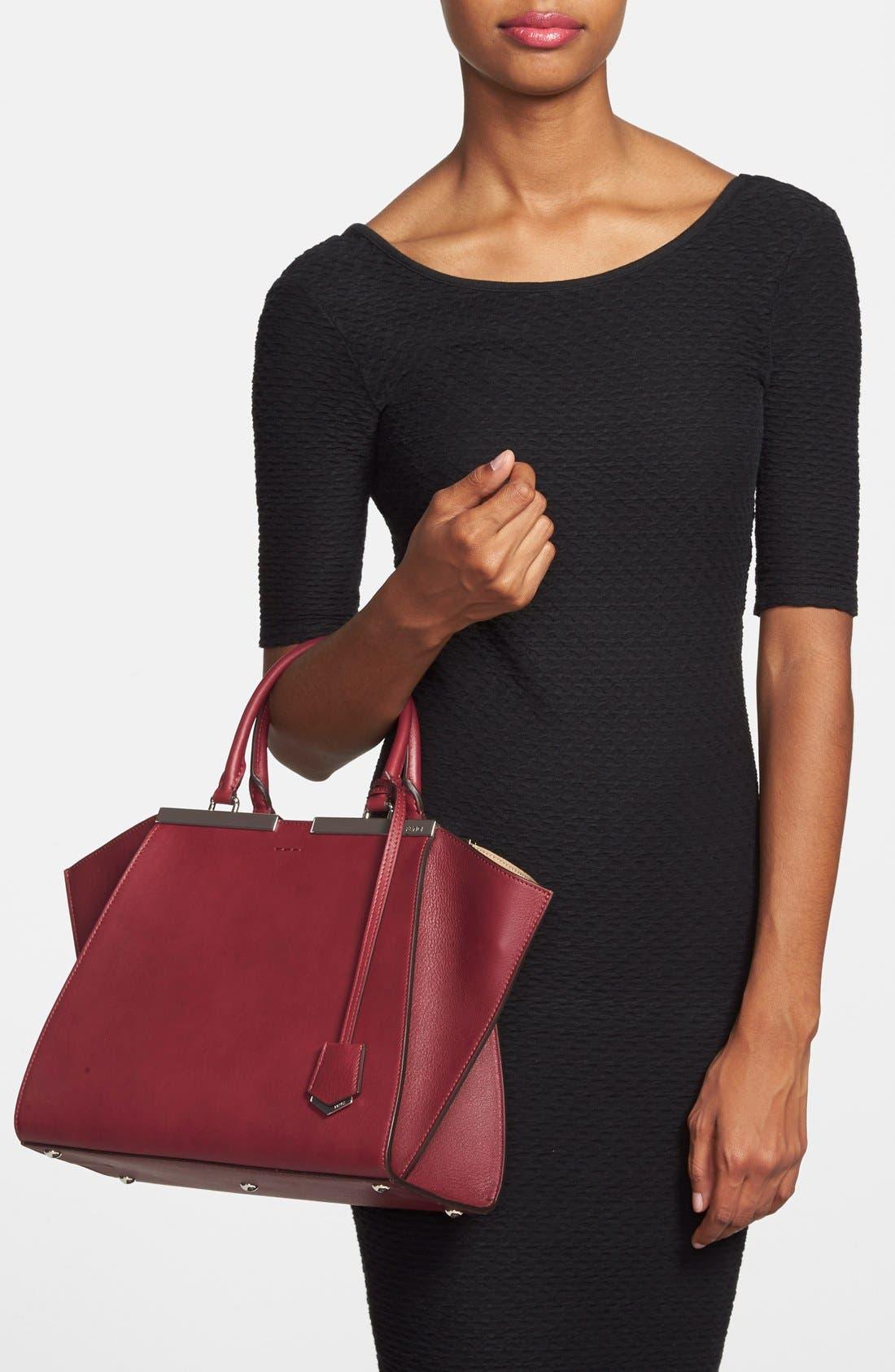 Alternate Image 2  - Fendi 'Petit 3Jours' Leather Shopper