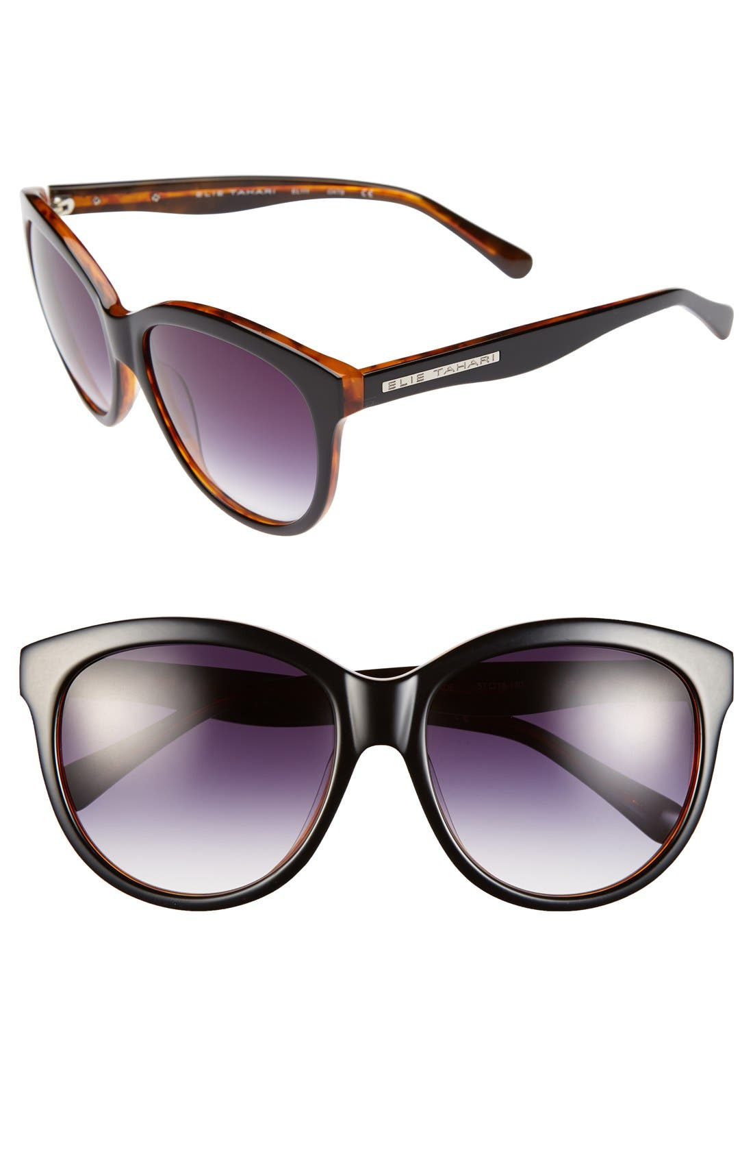 Main Image - Elie Tahari 57mm Cat Eye Sunglasses