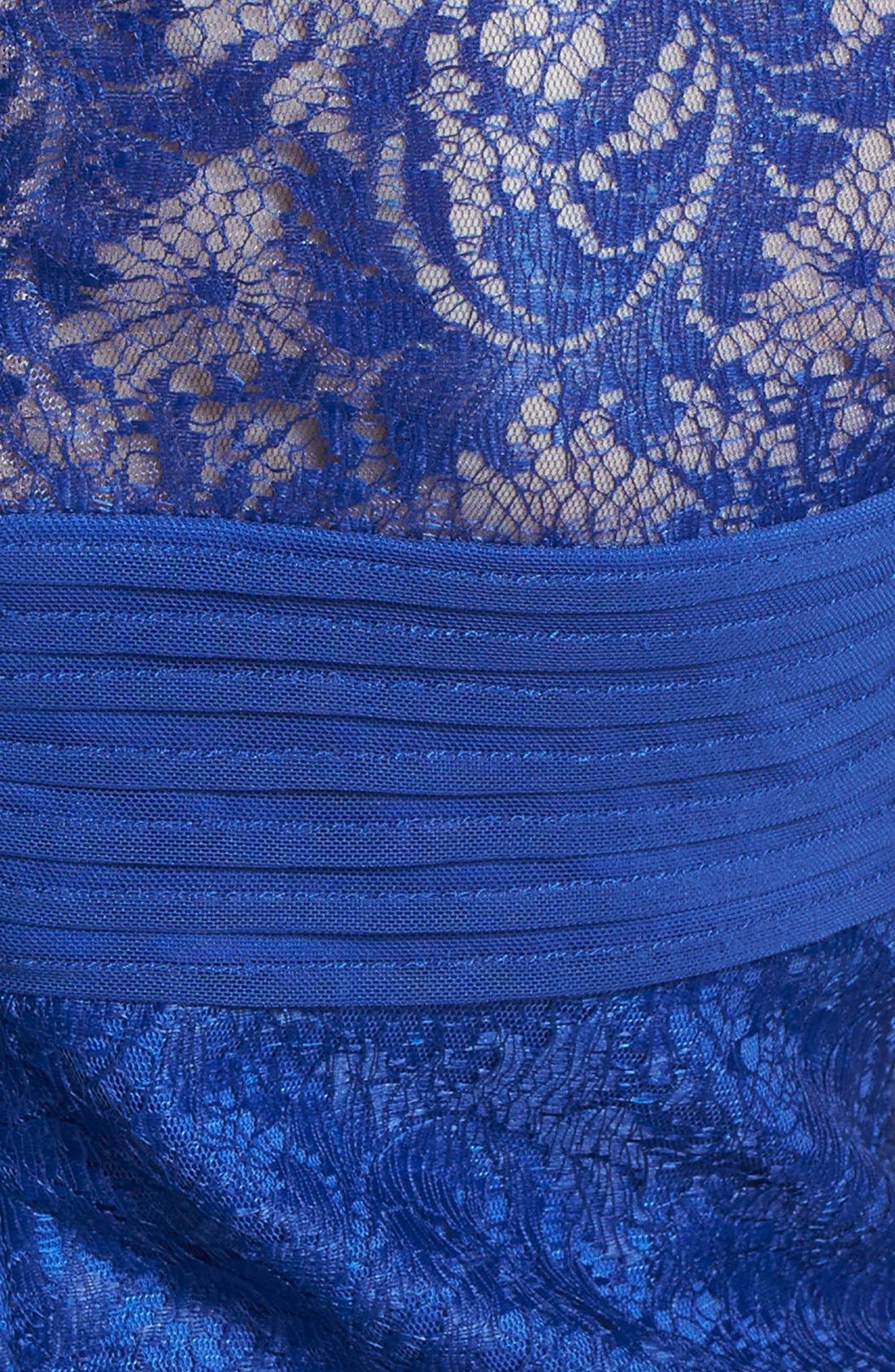 Alternate Image 4  - Tadashi Shoji Lace Sheath Dress (Regular & Petite)