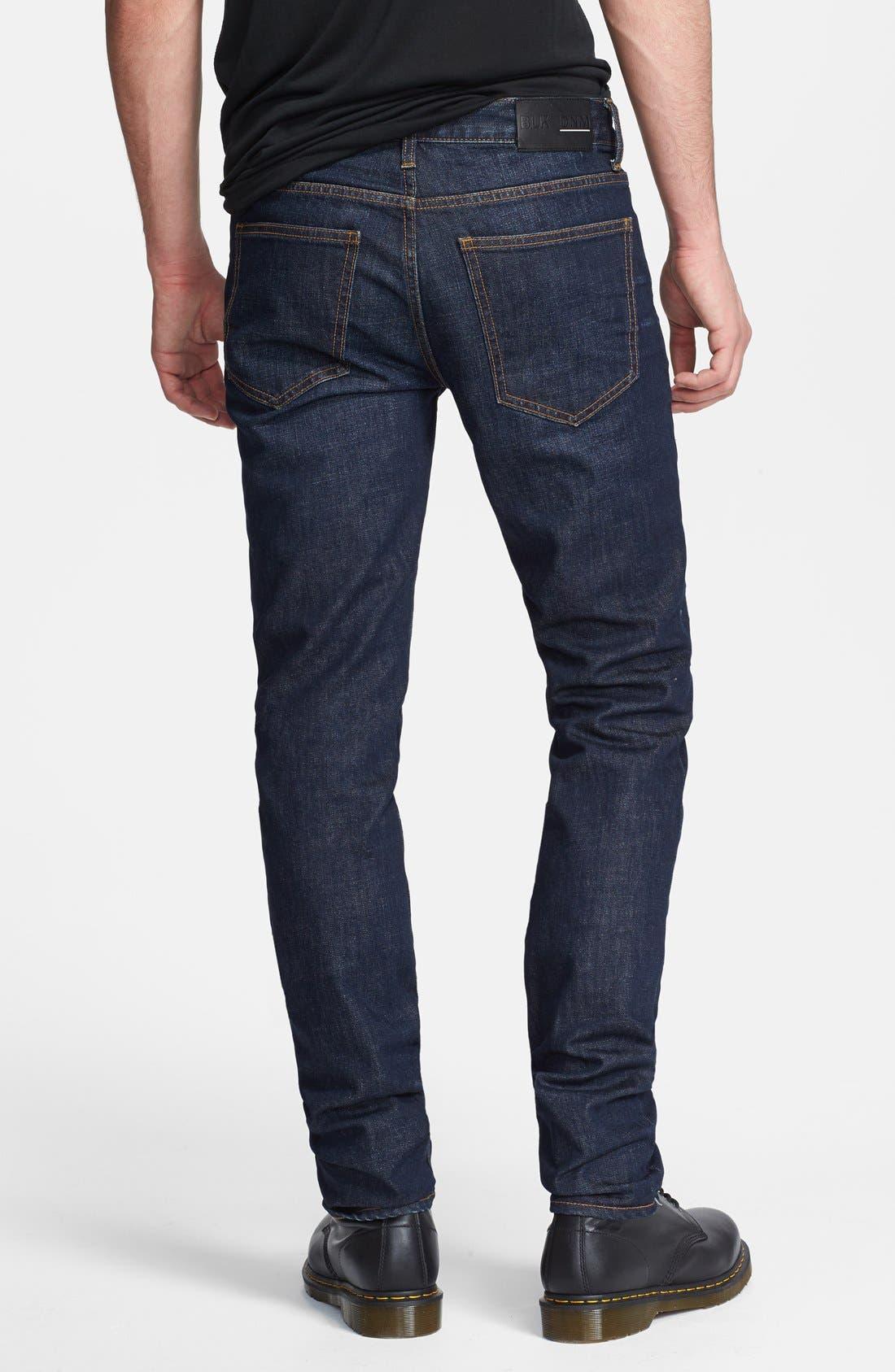 Alternate Image 2  - BLK DNM Skinny Fit Jeans (Gates Blue)