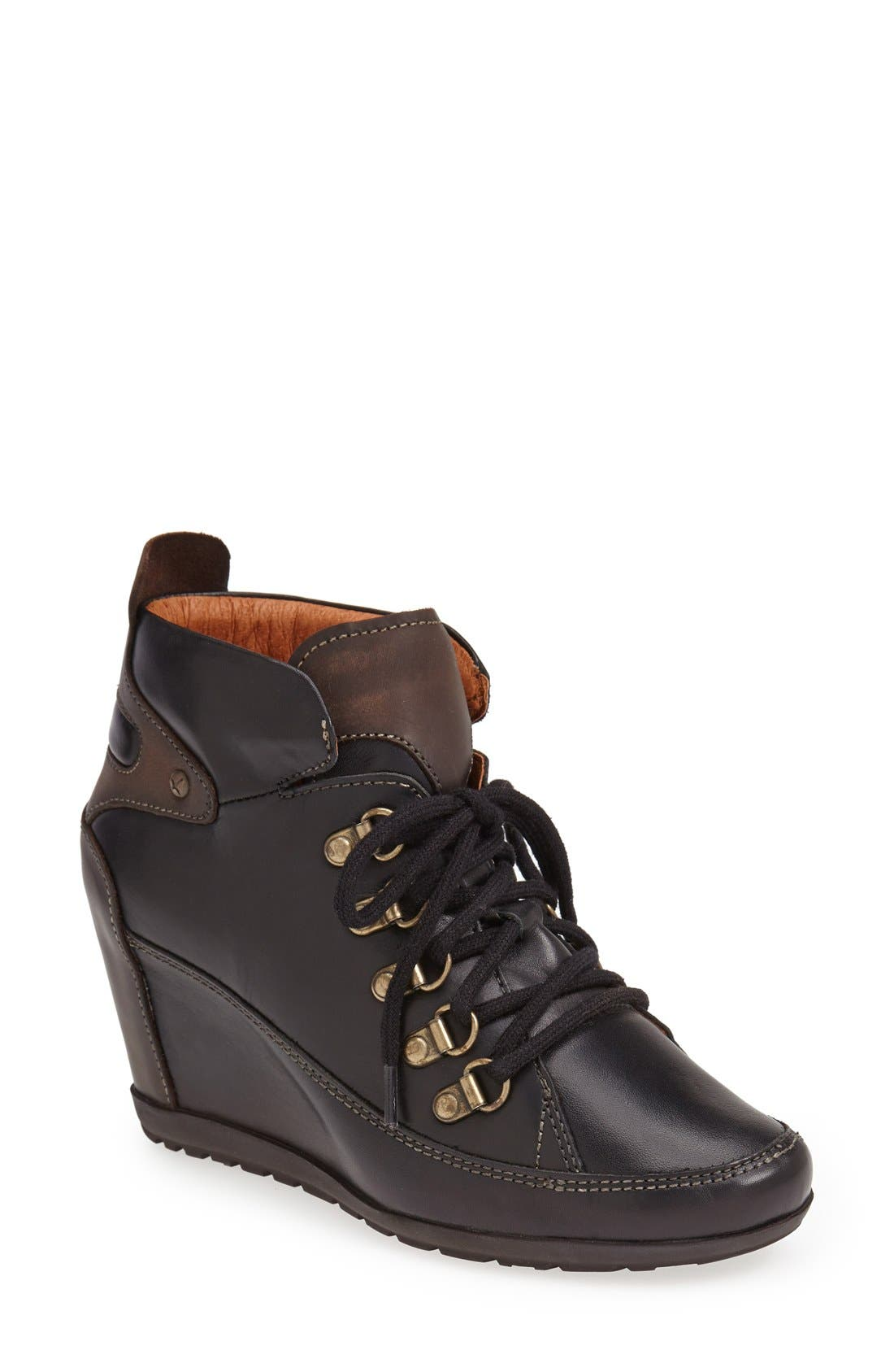 Alternate Image 1 Selected - PIKOLINOS 'Amsterdam' Wedge Bootie (Women)