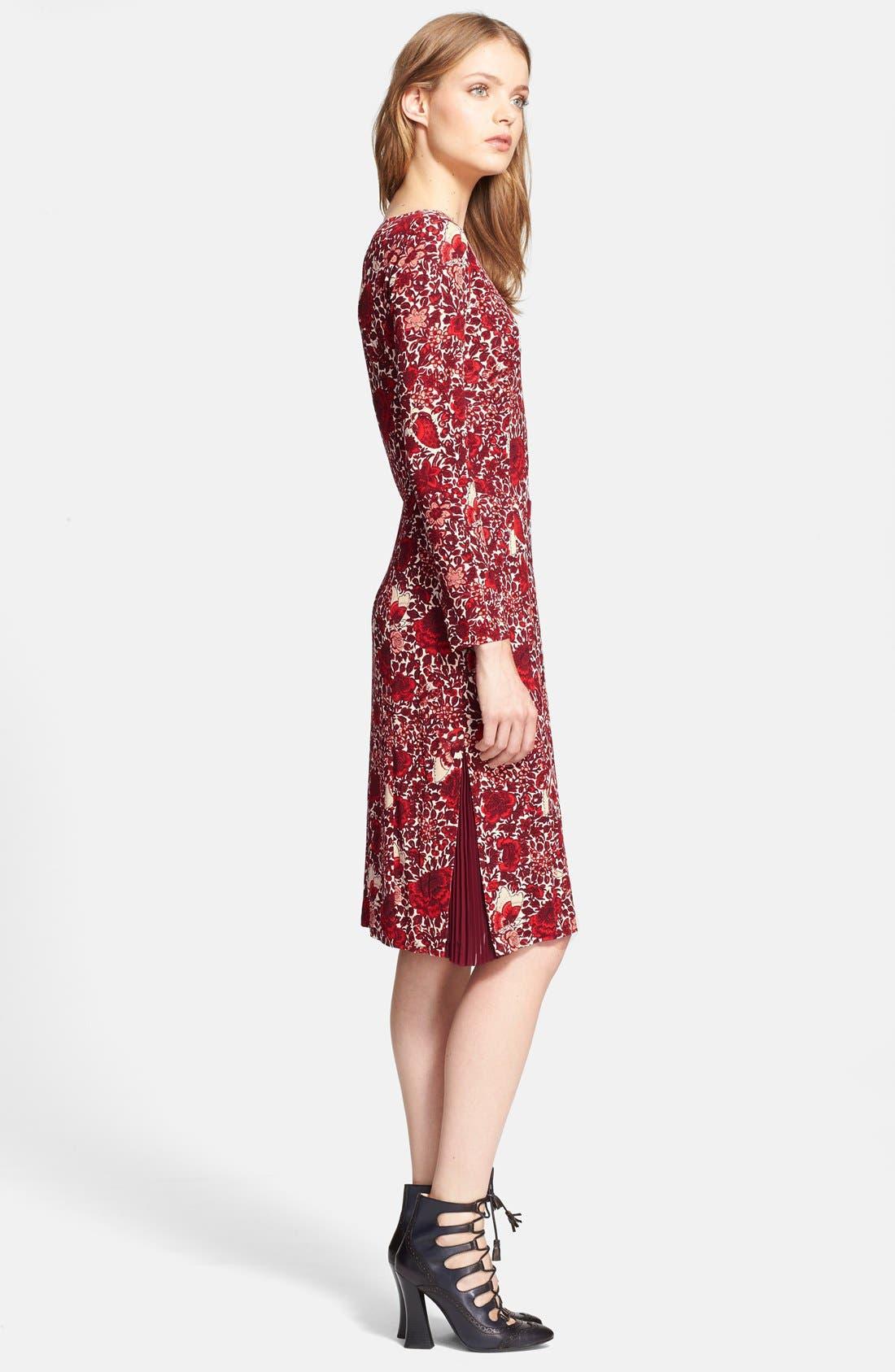 Alternate Image 4  - Tory Burch 'Ria' Floral Print Shift Dress