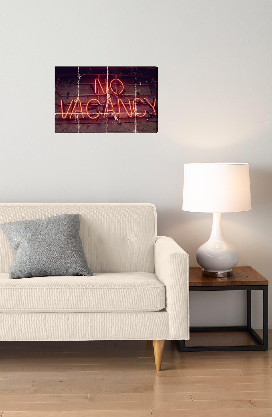 Alternate Image 2  - Oliver Gal 'No Vacancy' Wall Art