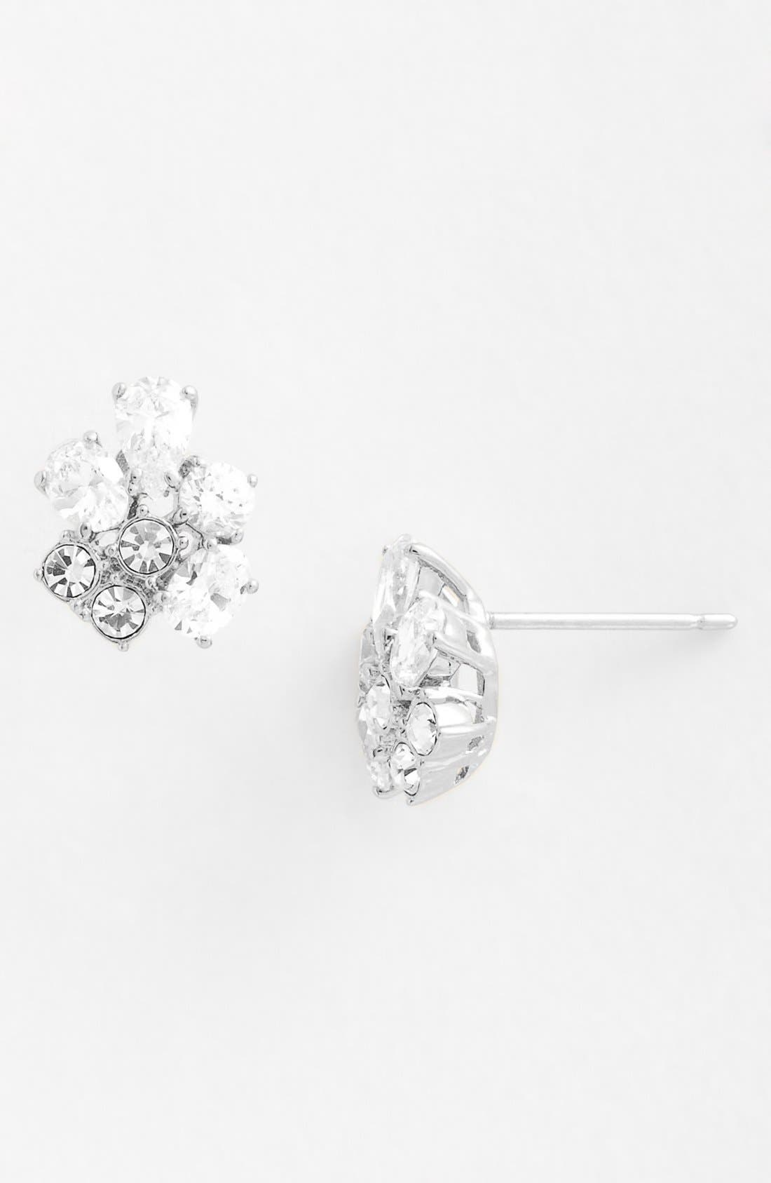 Alternate Image 2  - Nadri Cubic Zirconia Cluster Stud Earrings (Nordstrom Exclusive)