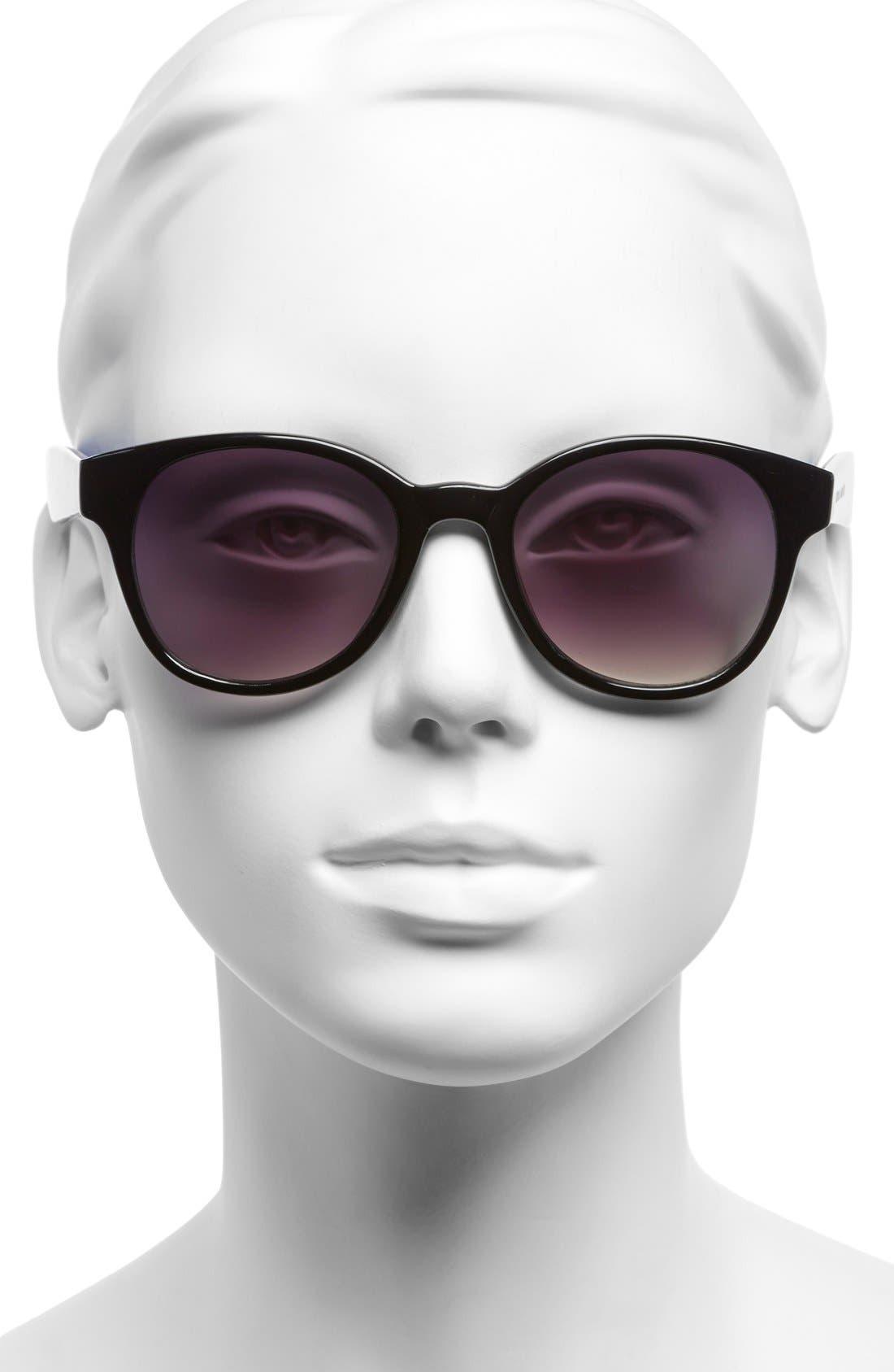 Alternate Image 2  - Ivanka Trump 50mm Keyhole Sunglasses