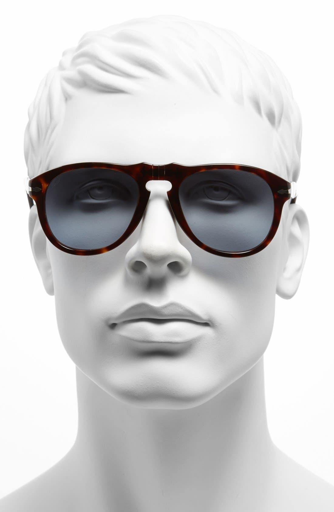 Alternate Image 2  - Persol '649' Retro 52mm Keyhole Sunglasses