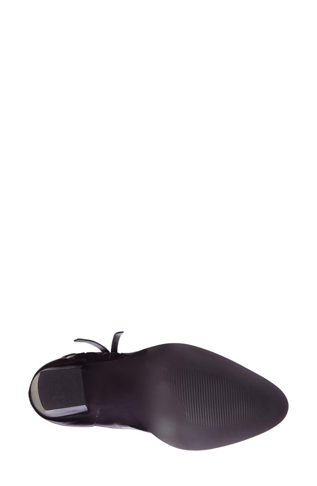 Alternate Image 4  - Steve Madden 'Marando' Pointy Toe Leather Bootie (Women)
