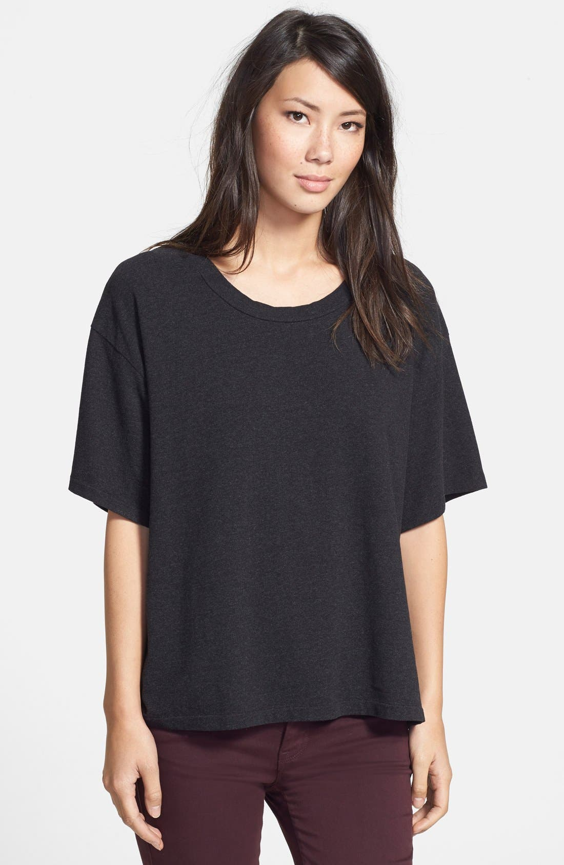 Alternate Image 1 Selected - James Perse Oversize Heavy Tee