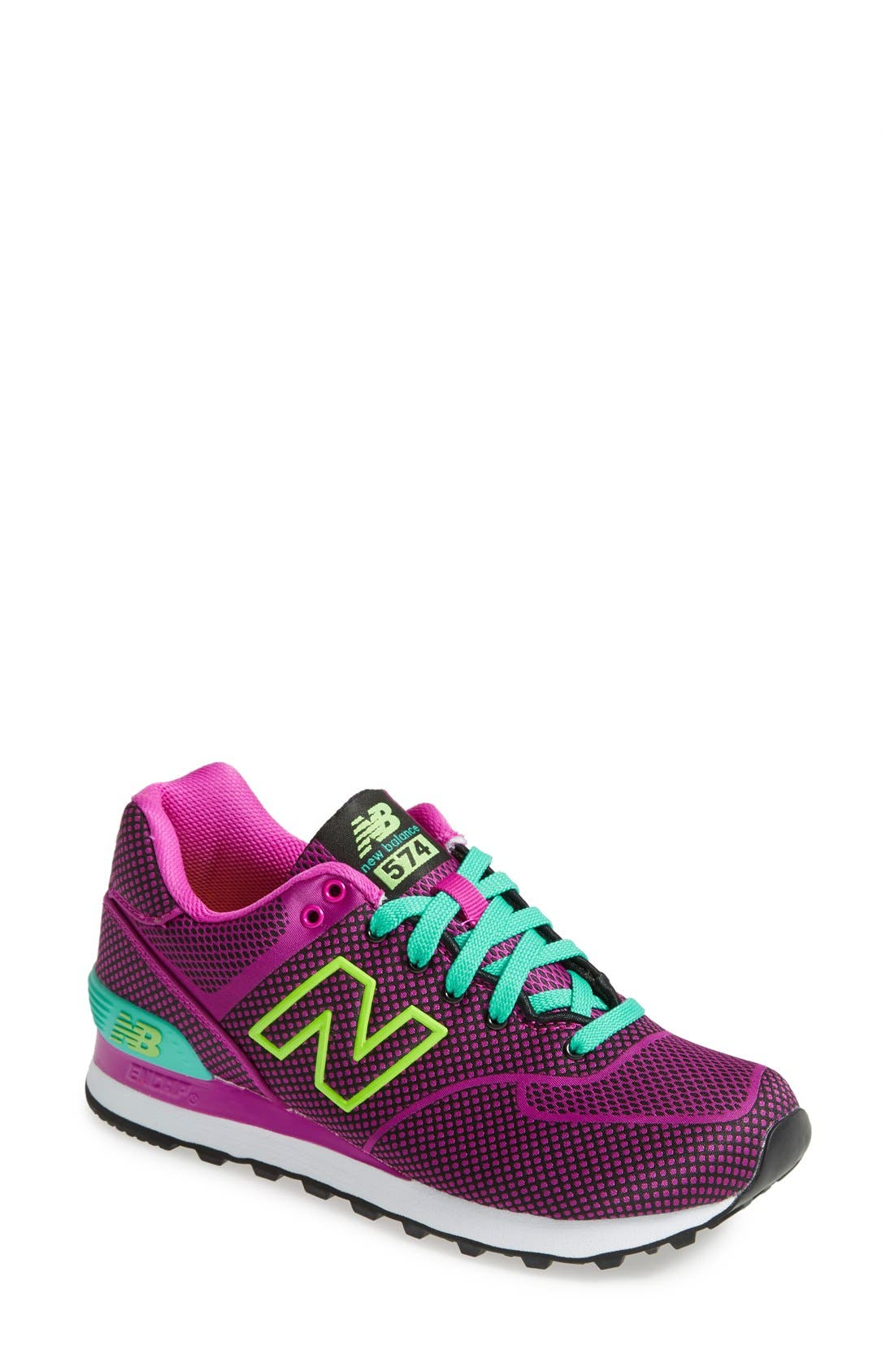 Alternate Image 1 Selected - New Balance '574' Sneaker (Women)