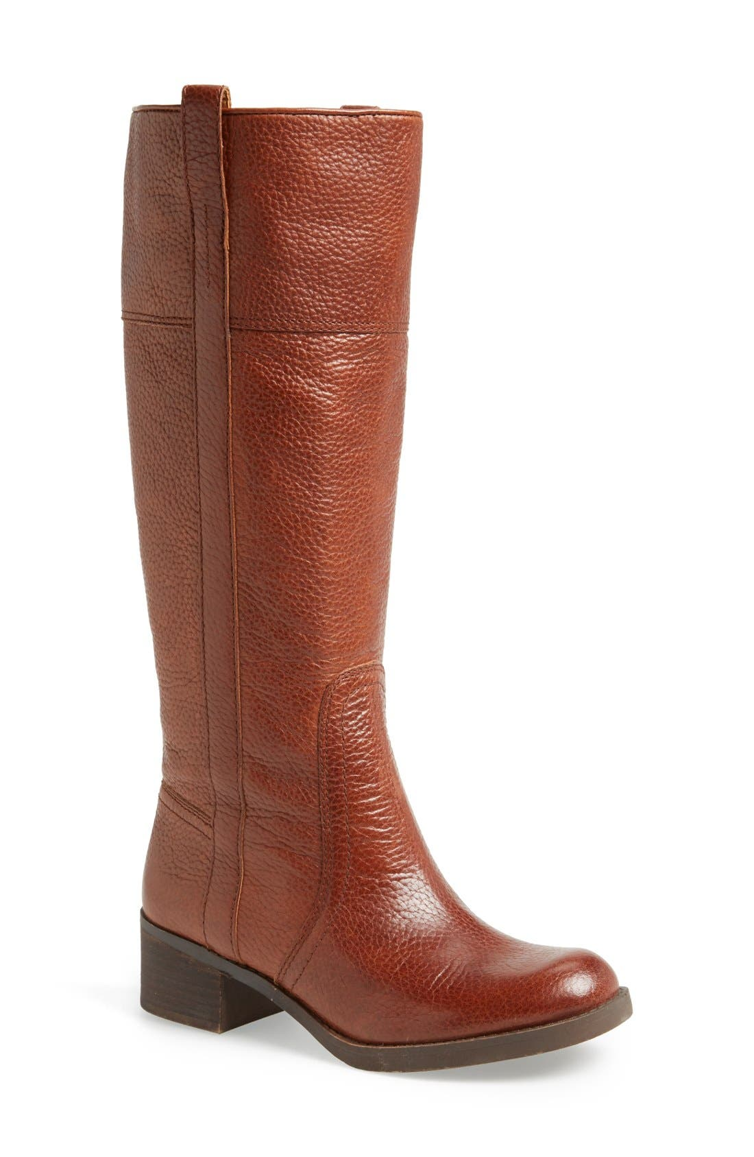 Alternate Image 1 Selected - Lucky Brand 'Hibiscus' Boot (Wide Calf)