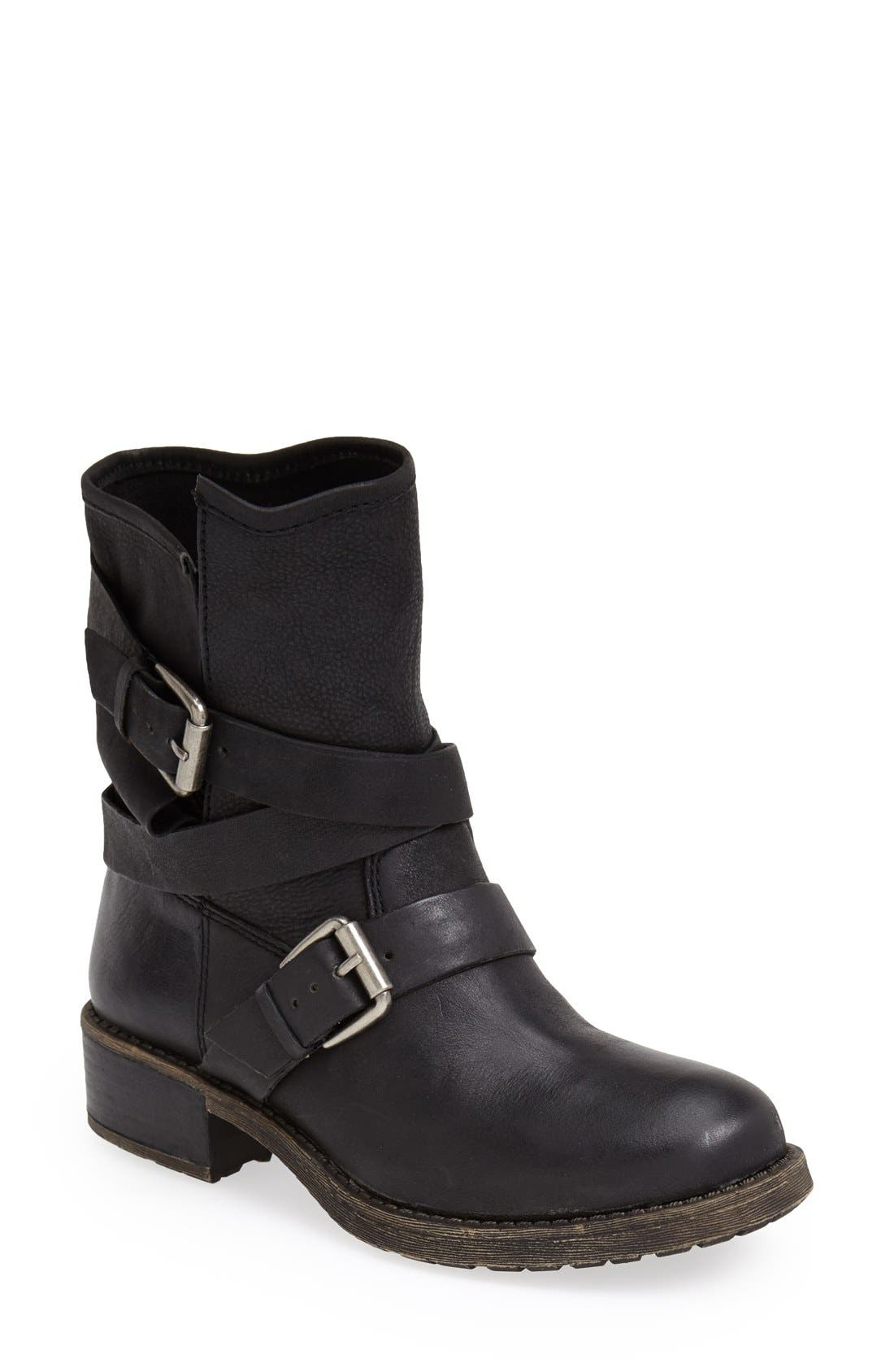 Alternate Image 1 Selected - Lucky Brand 'Dallis' Moto Boot (Women)