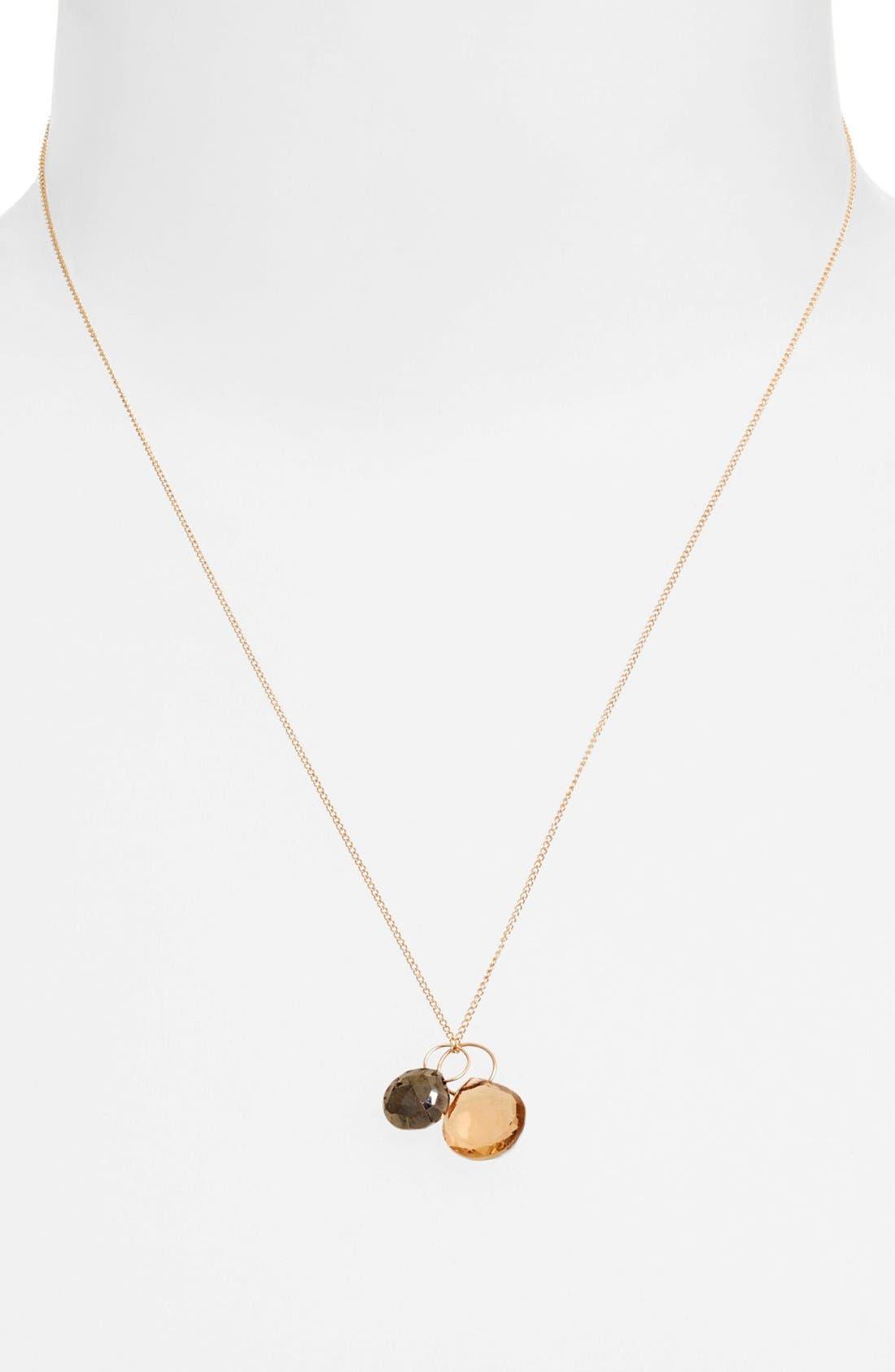 Alternate Image 2  - Melissa Joy Manning Double Pendant Necklace