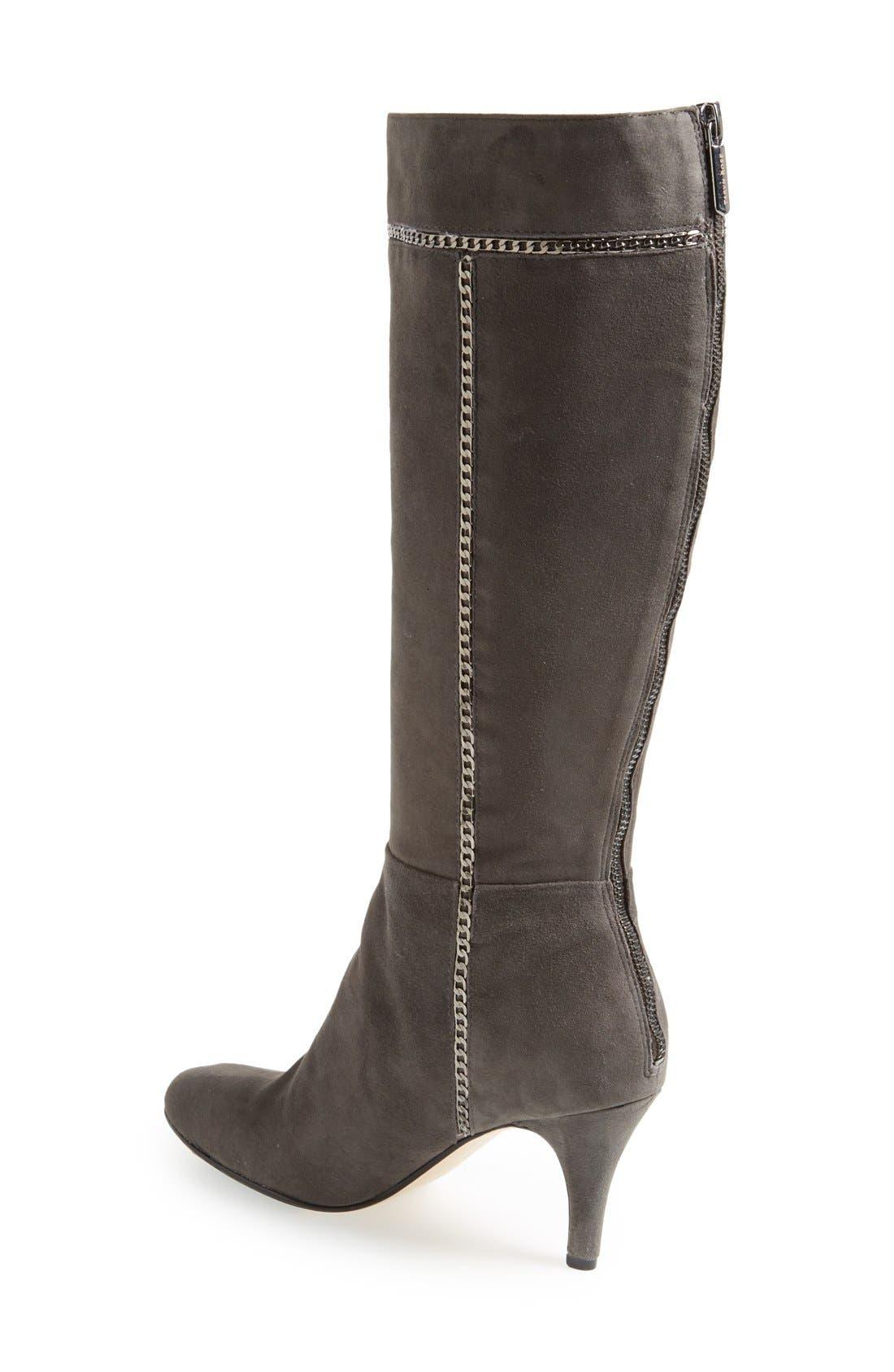 Alternate Image 2  - Taryn Rose 'Treyes' Tall Suede Boot (Women)