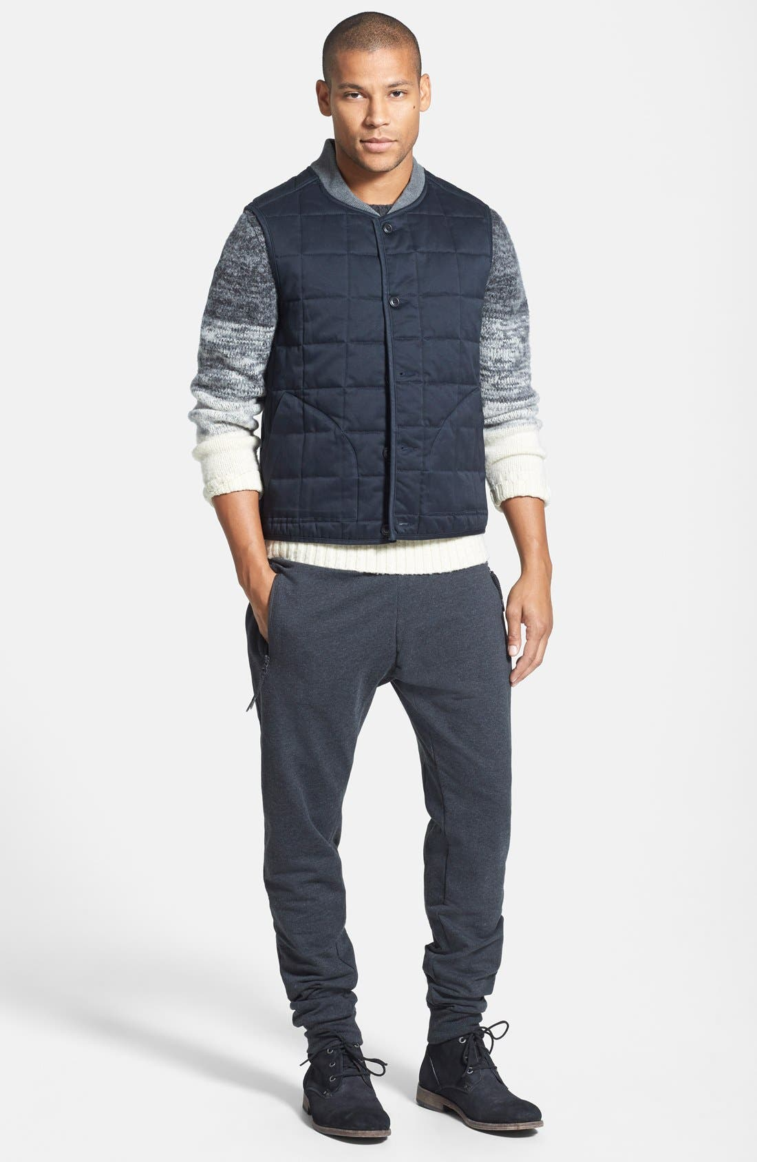 Alternate Image 4  - Wallin & Bros. Trim Fit Quilted Vest