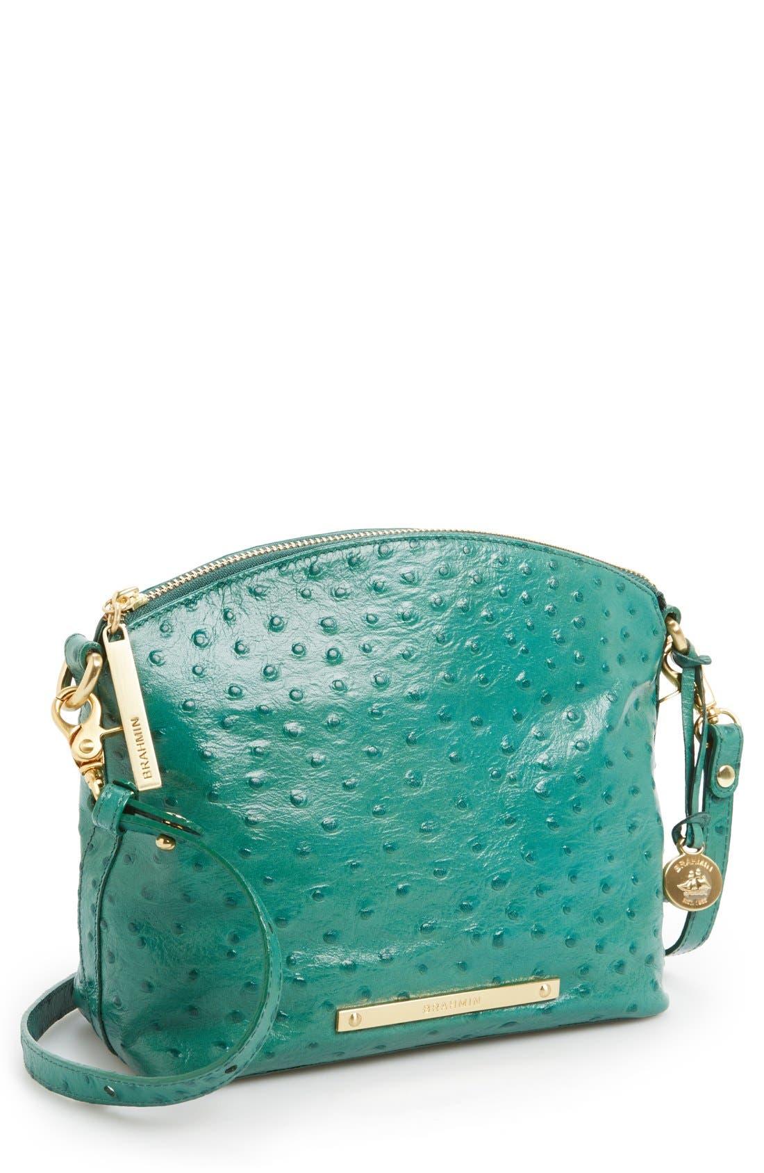 Alternate Image 1 Selected - Brahmin 'Mini Duxbury' Leather Crossbody Bag