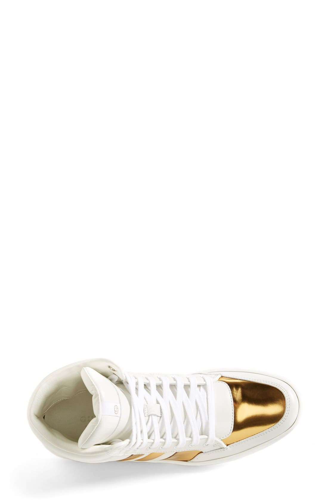 Alternate Image 3  - Gucci 'Ronnie' High Top Sneaker (Women)