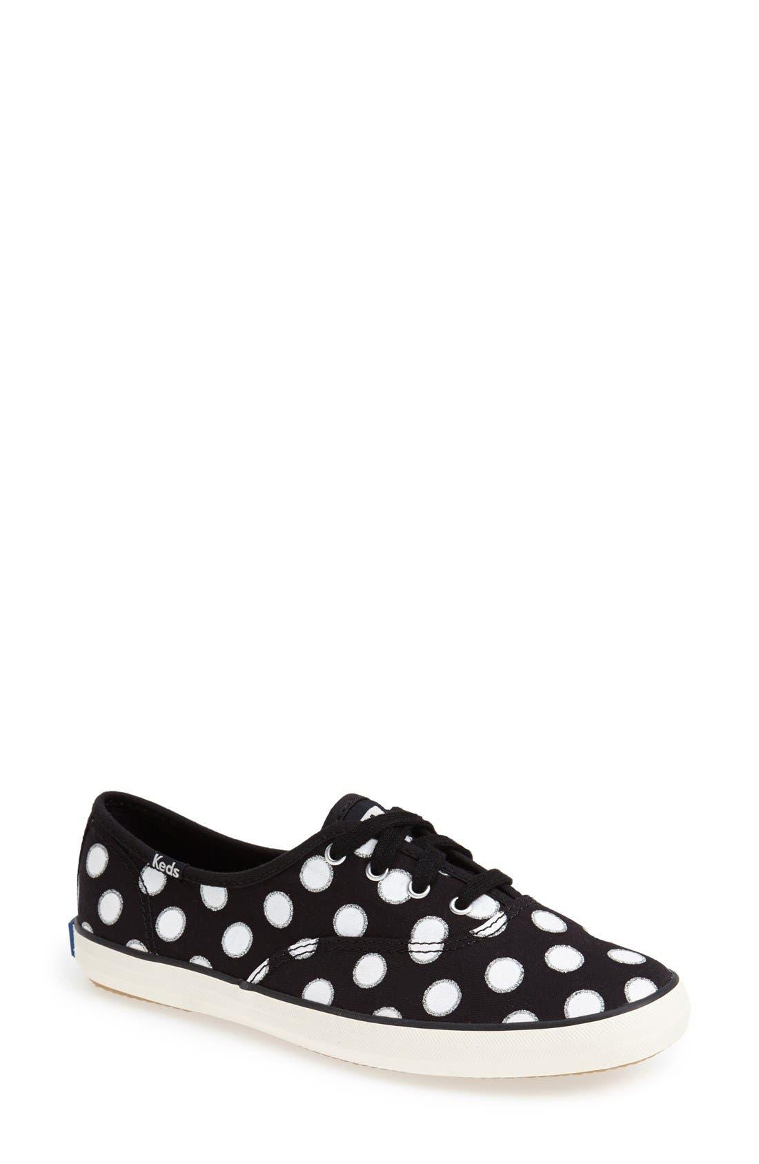Main Image - Keds® 'Champion - Glitter Dot' Canvas Sneaker (Women) (Regular Retail Price: $49.95)