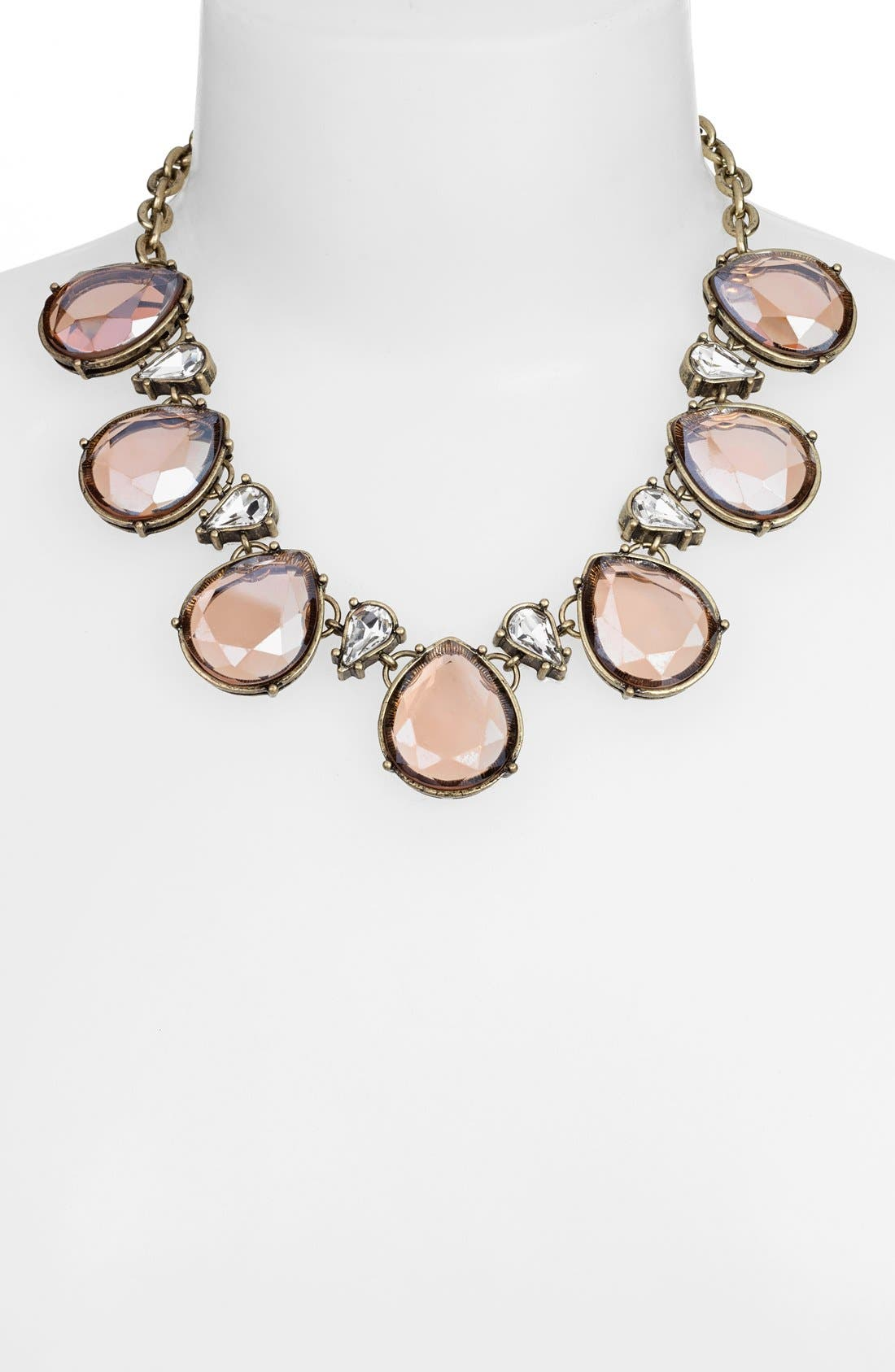 Alternate Image 2  - Robert Rose Tear Drop Collar Necklace