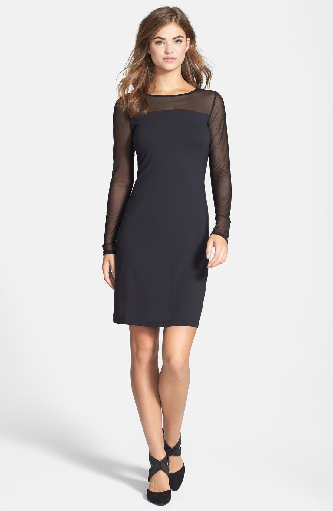 Main Image - Tommy Bahama 'Gower' Illusion Neck Jersey Dress