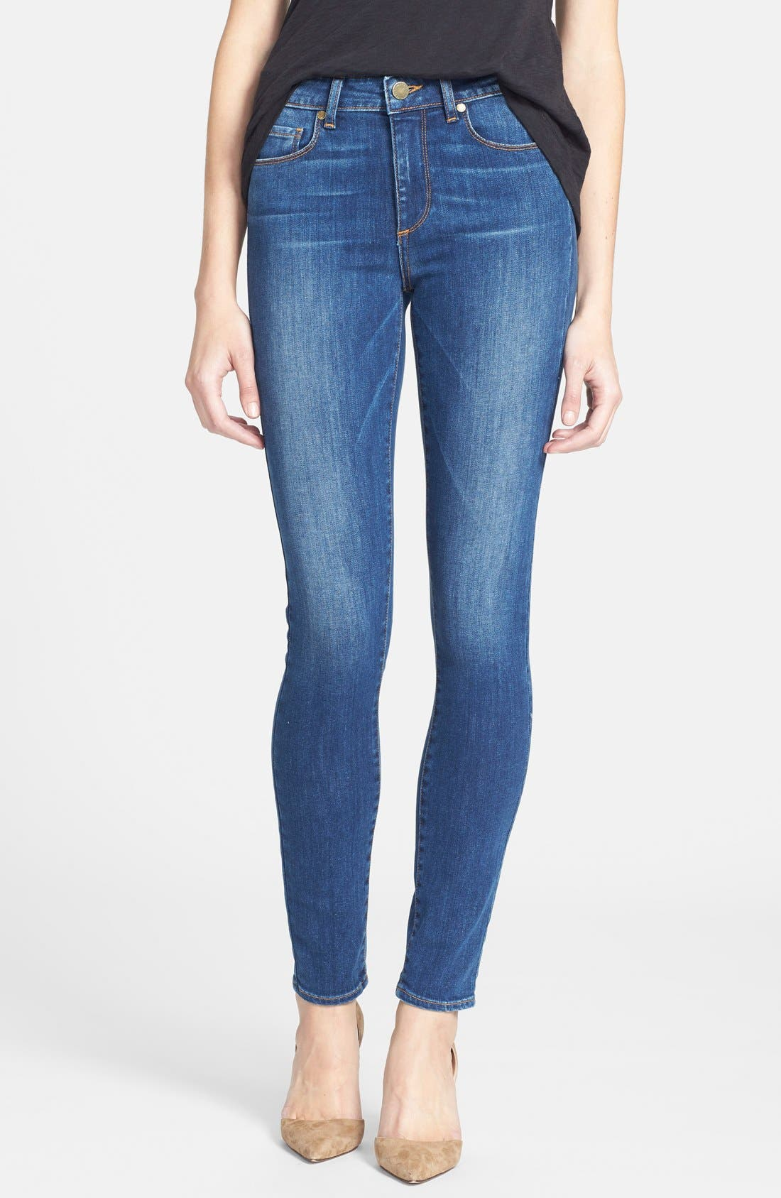 Main Image - Paige Denim 'Hoxton' Ultra Skinny Jeans (Constance)