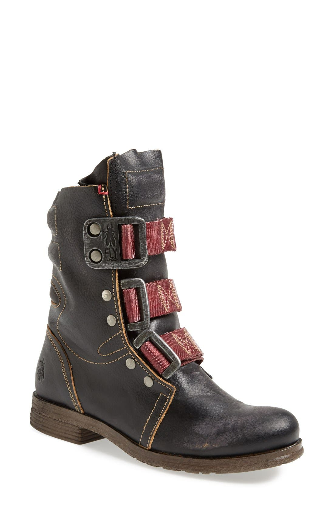 Alternate Image 1 Selected - Fly London 'Stif' Military Boot (Women)