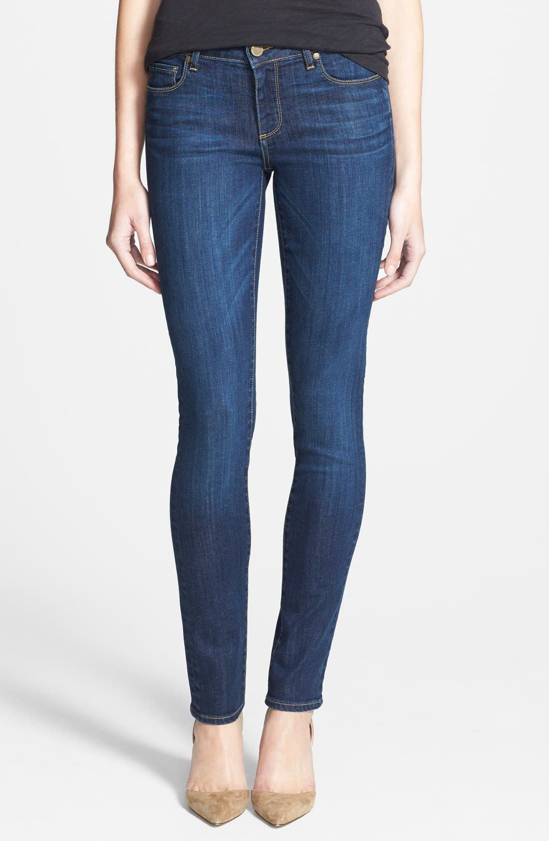 Alternate Image 1 Selected - Paige Denim 'Skyline' Skinny Jeans (Lange)