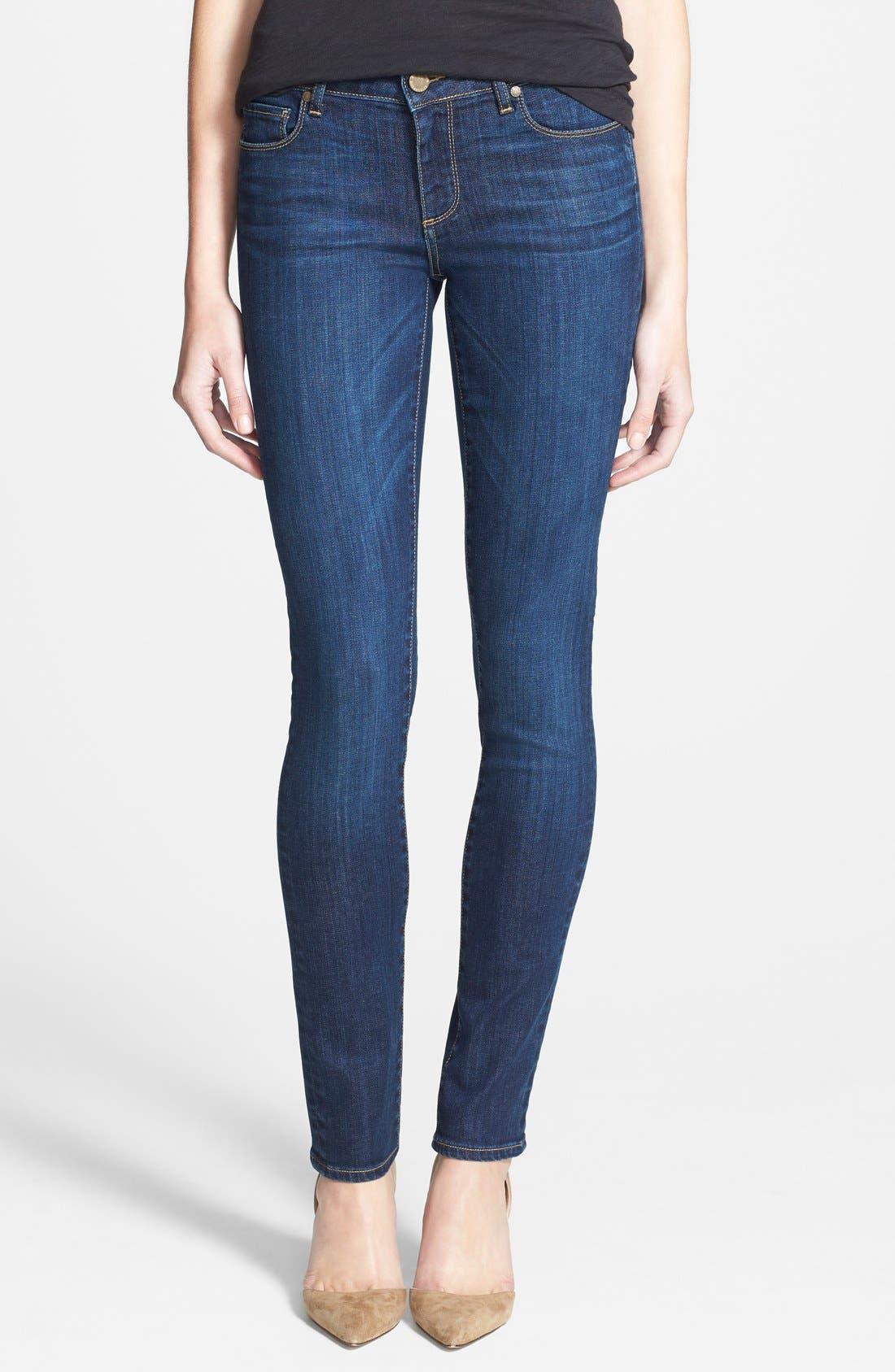 Main Image - Paige Denim 'Skyline' Skinny Jeans (Lange)
