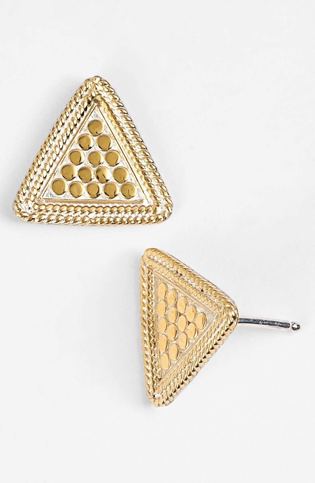 Alternate Image 1 Selected - Anna Beck 'Gili' Triangle Stud Earrings
