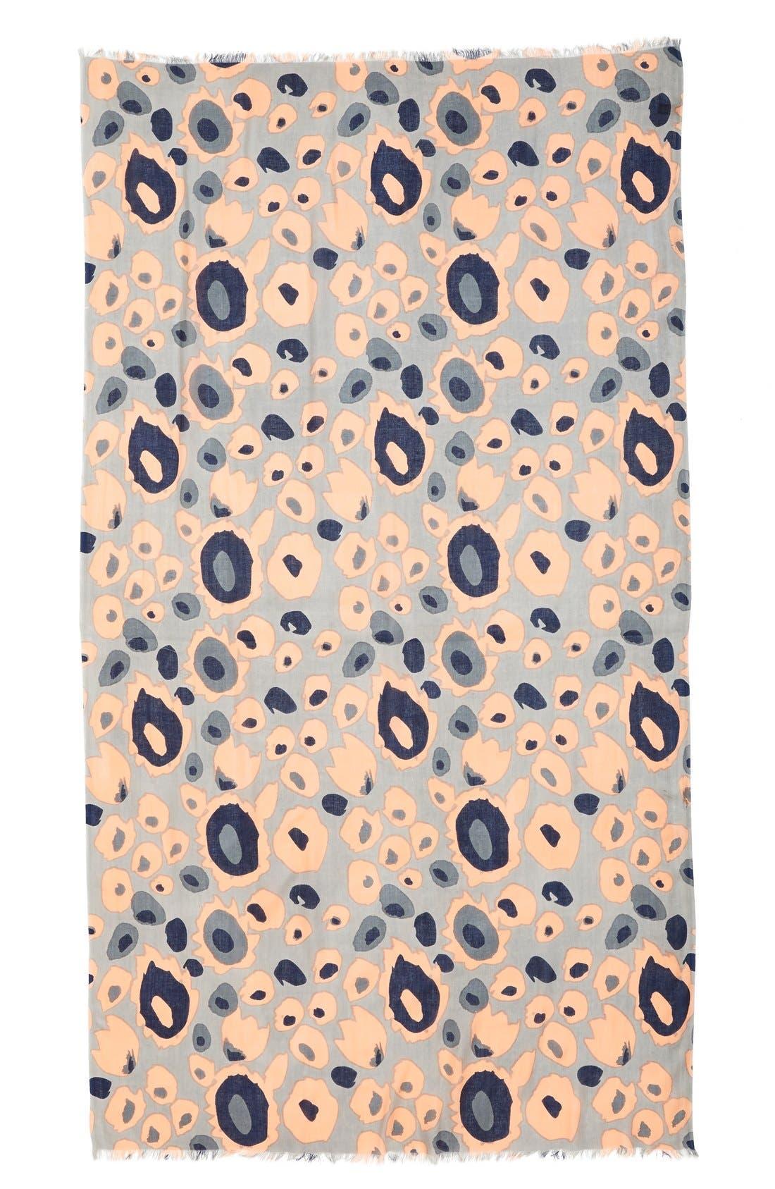 Alternate Image 2  - Urban Originals Abstract Leopard Print Scarf