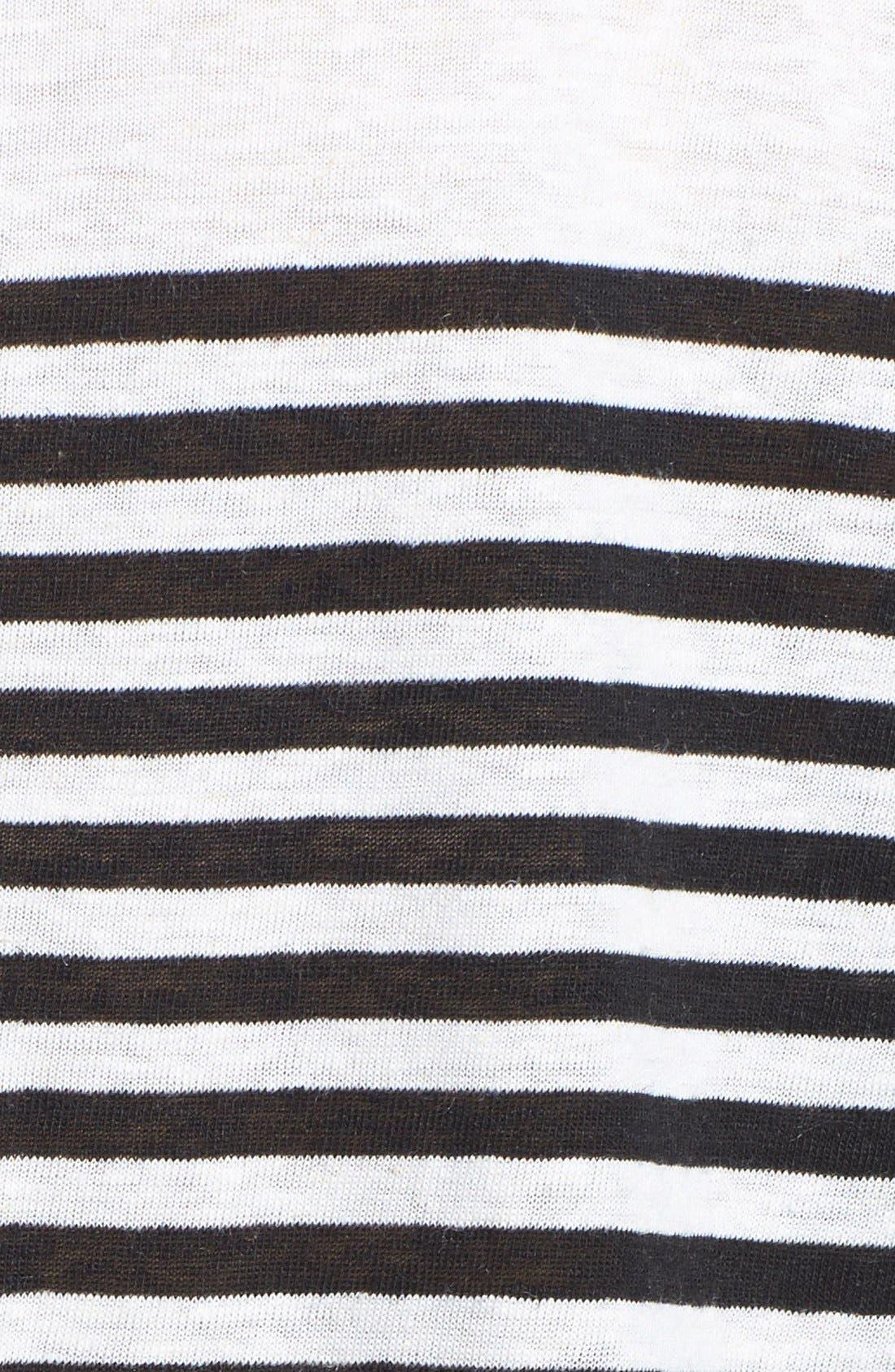 Alternate Image 3  - Lucky Brand Stripe Pocket Tunic
